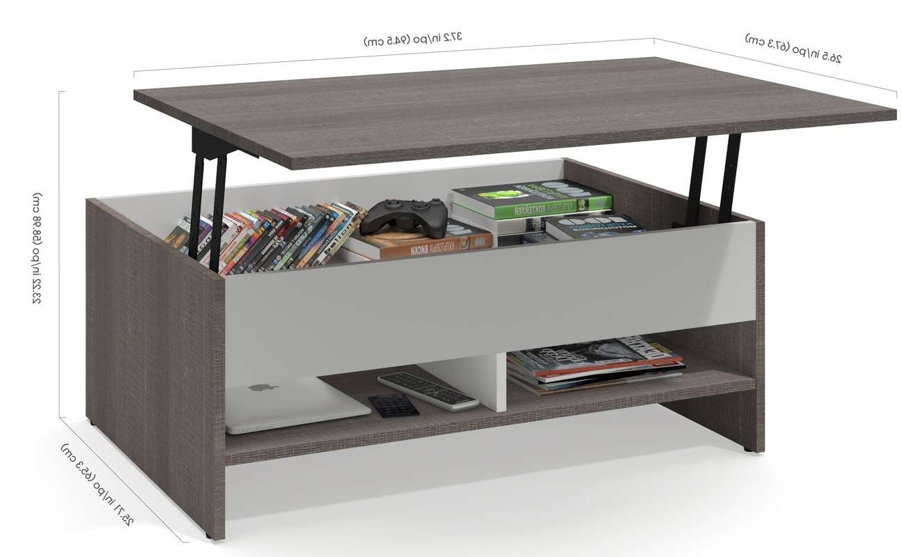 Well Liked Storage Coffee Tables Within Latitude Run Frederick Storage Coffee Table With Lift Top (View 19 of 20)
