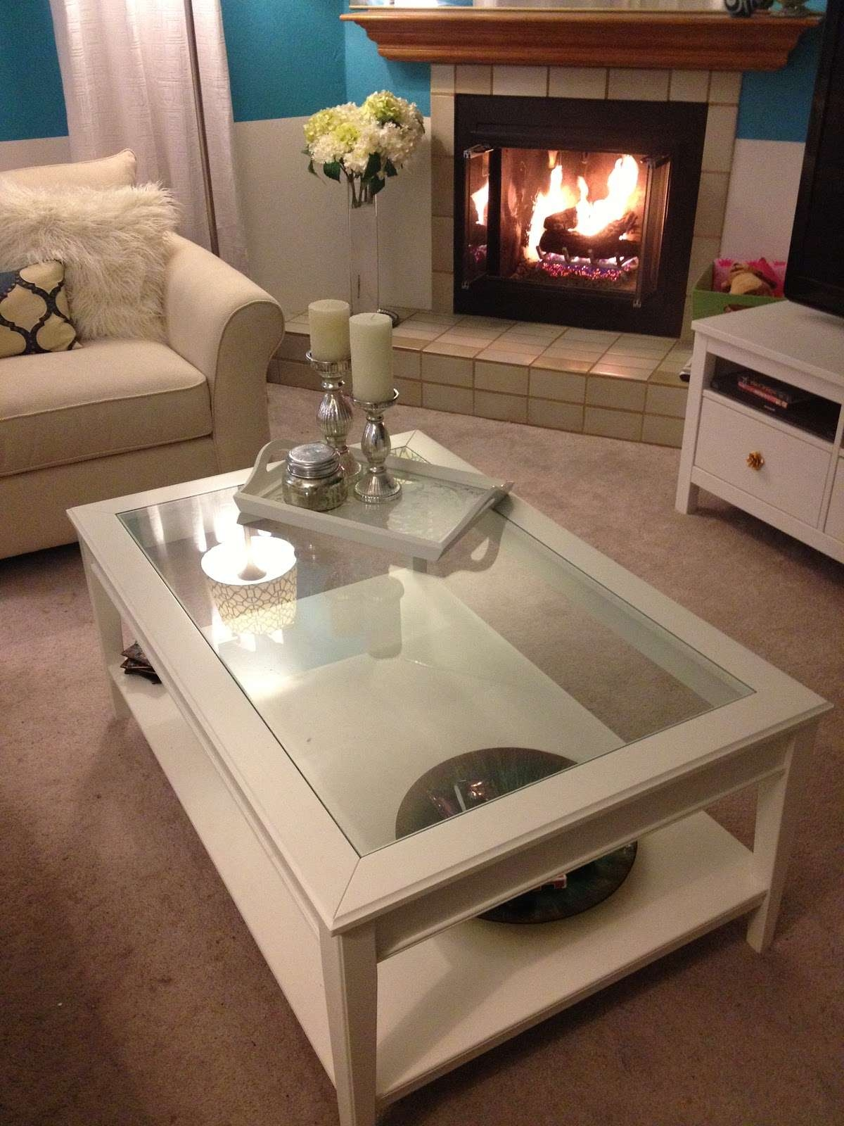 Well Liked White And Glass Coffee Tables In Coffee Tables : Breathtaking Farmhouse Style Living Room Features (View 14 of 20)