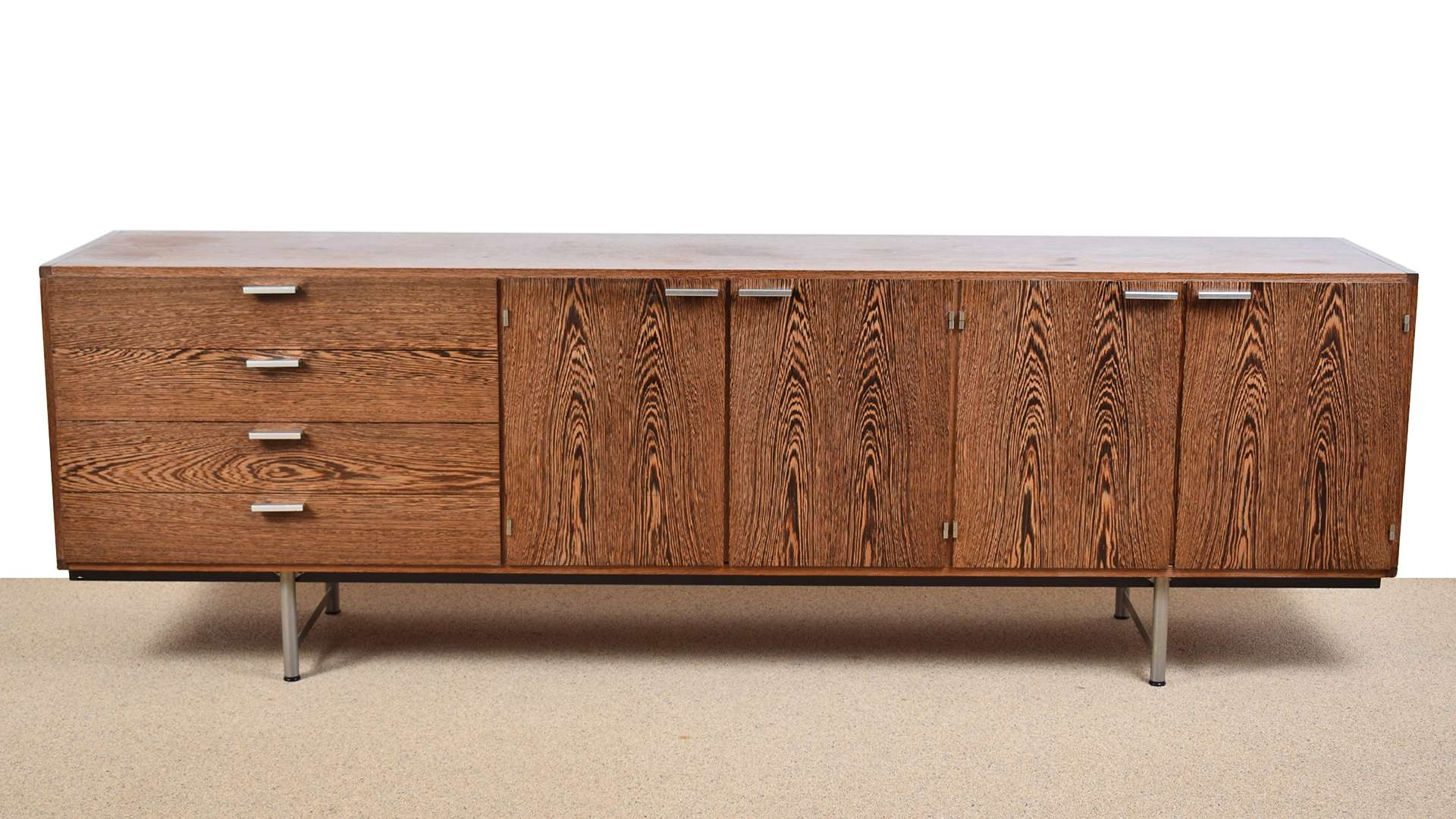 Wengé Sideboardcees Braakman For Pastoe, 1960s For Sale At Pamono Throughout Wenge Sideboards (View 3 of 20)