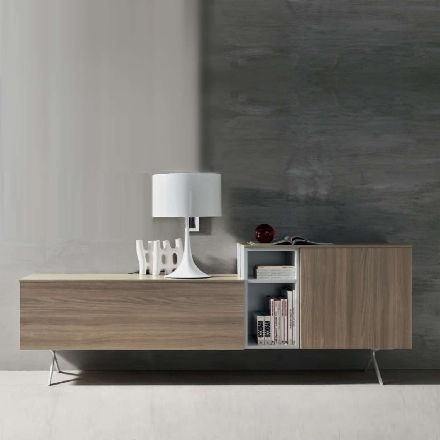 White Contemporary Sideboards : Rocket Uncle – Contemporary Regarding Contemporary Sideboards (View 7 of 20)