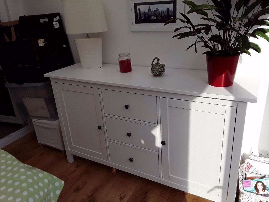 White Ikea Hemnes Sideboard As New Great Furniture | In Hull, East For Ikea Hemnes Sideboards (View 20 of 20)