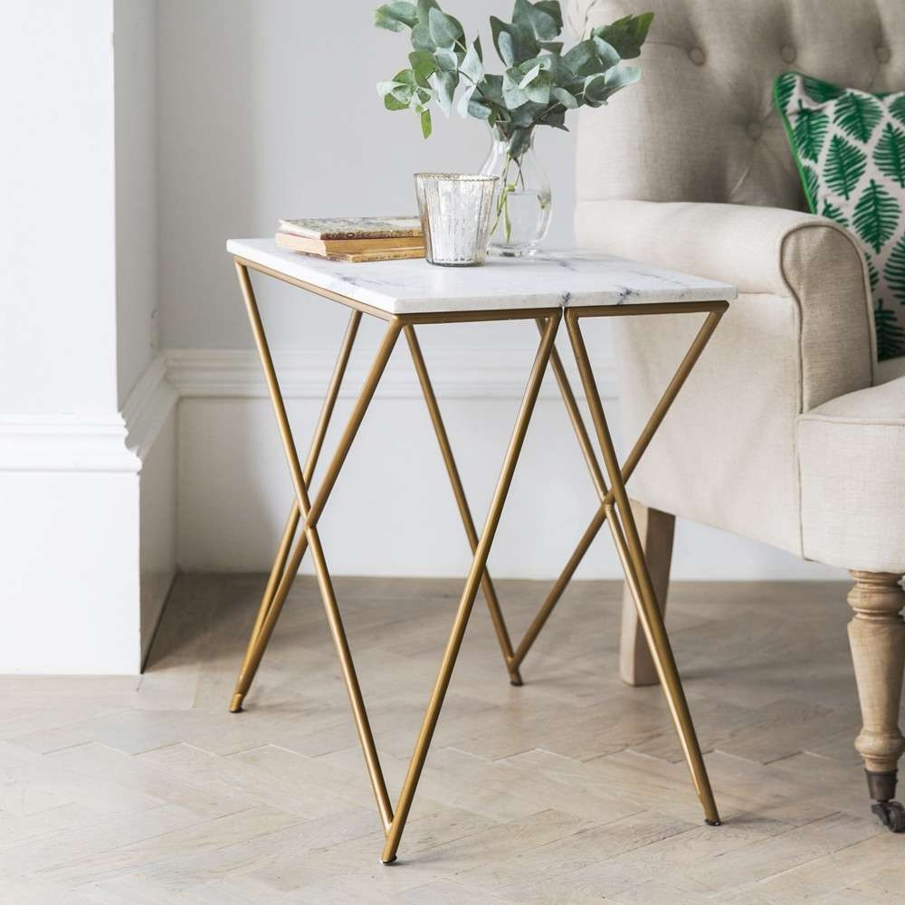 White Marble Side Table In Most Recently Released White Marble Coffee Tables (View 19 of 20)