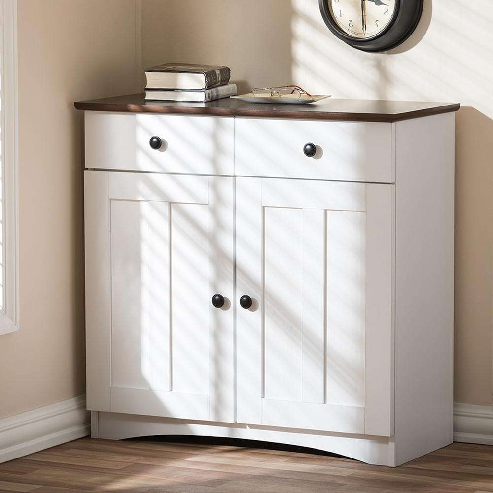 White – Sideboards & Buffets – Kitchen & Dining Room Furniture Inside White Sideboards Cabinets (View 18 of 20)