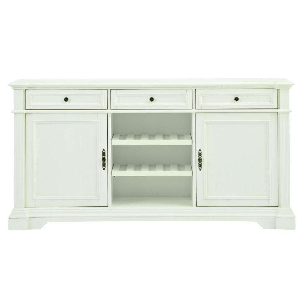 White – Sideboards & Buffets – Kitchen & Dining Room Furniture Within White Sideboards Tables (View 14 of 20)