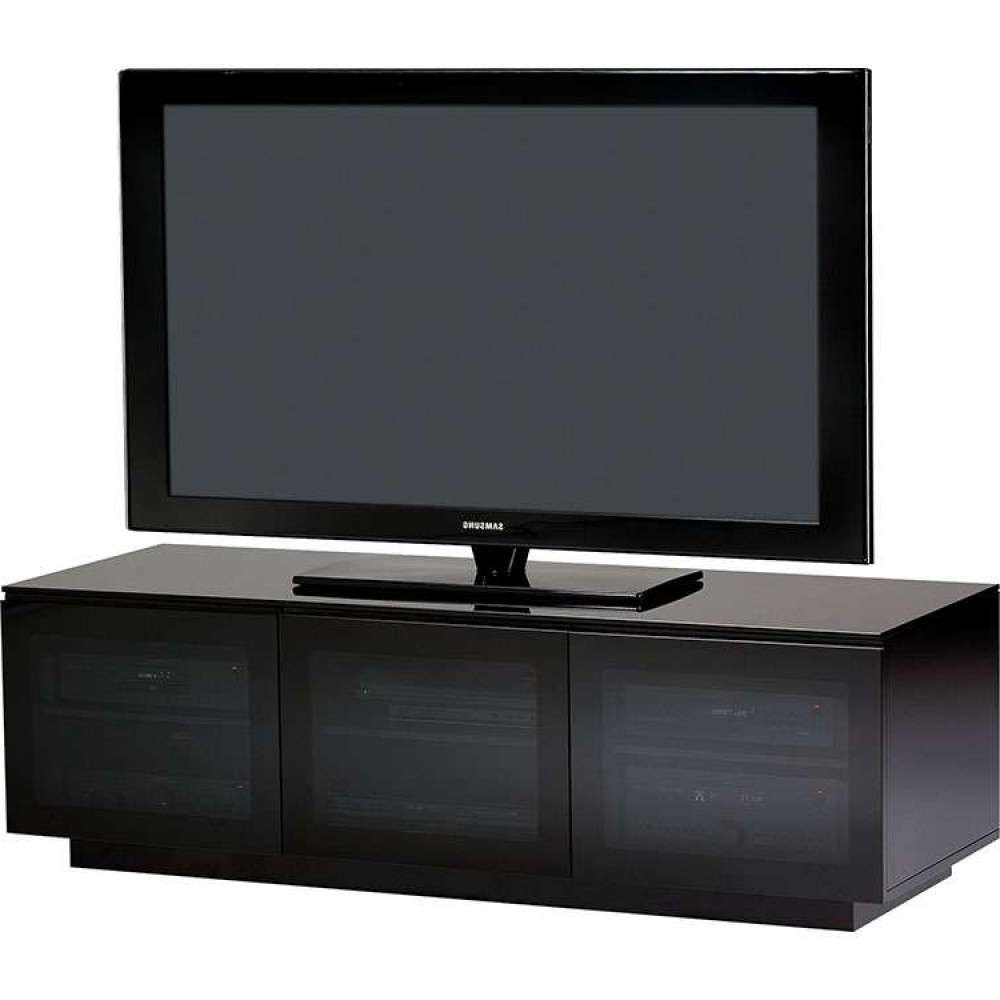 Wide Media Equipment Tv Stand With Adjustable Shelves Throughout Wide Tv Cabinets (View 18 of 20)