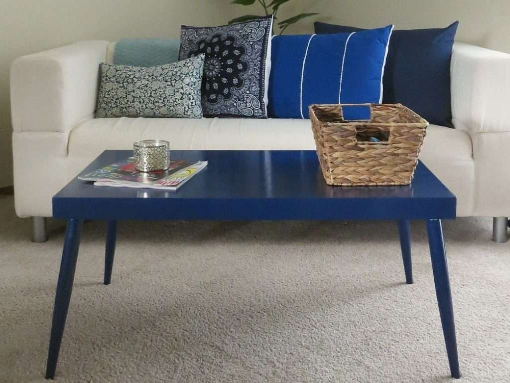 Widely Used Blue Coffee Tables Intended For Coffee Table : Blue Coffee Table Distressed Light Used Tables (View 11 of 20)
