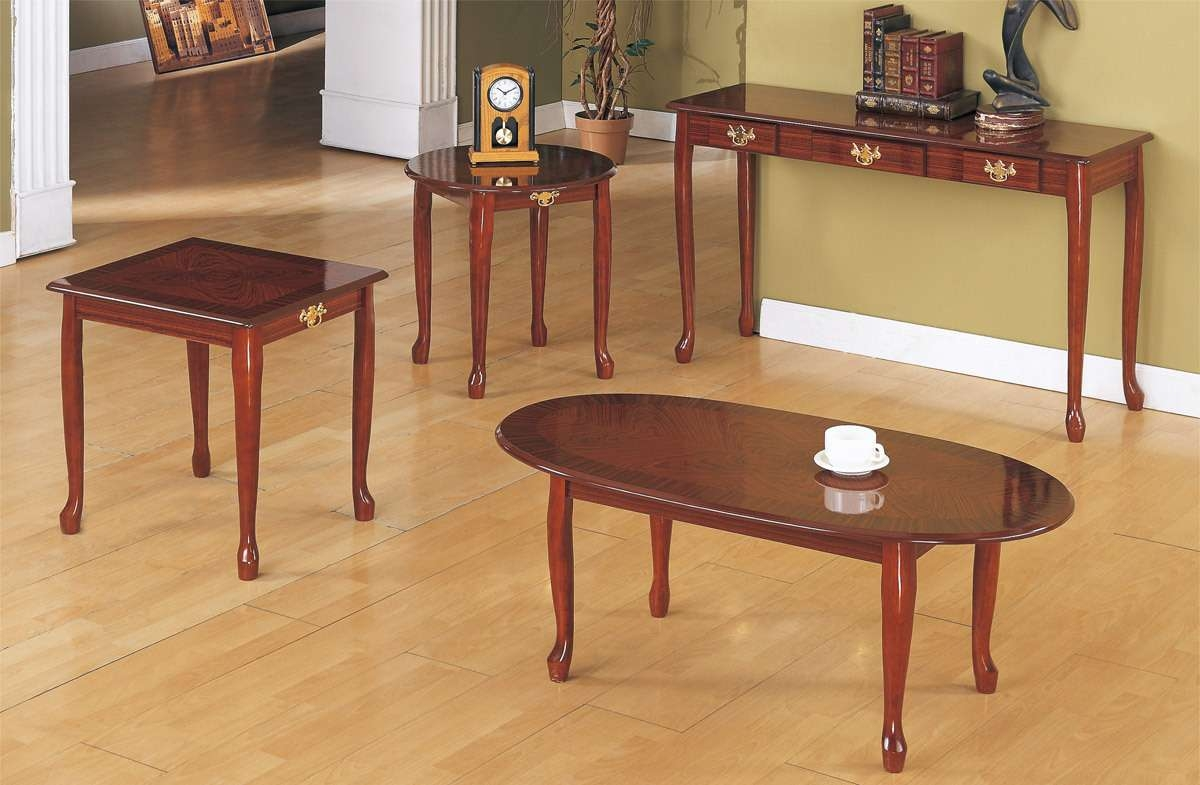 Widely Used Cherry Wood Coffee Table Sets Within Coffee Table, Solid Cherry Contemporary Square Coffee Table (View 4 of 20)