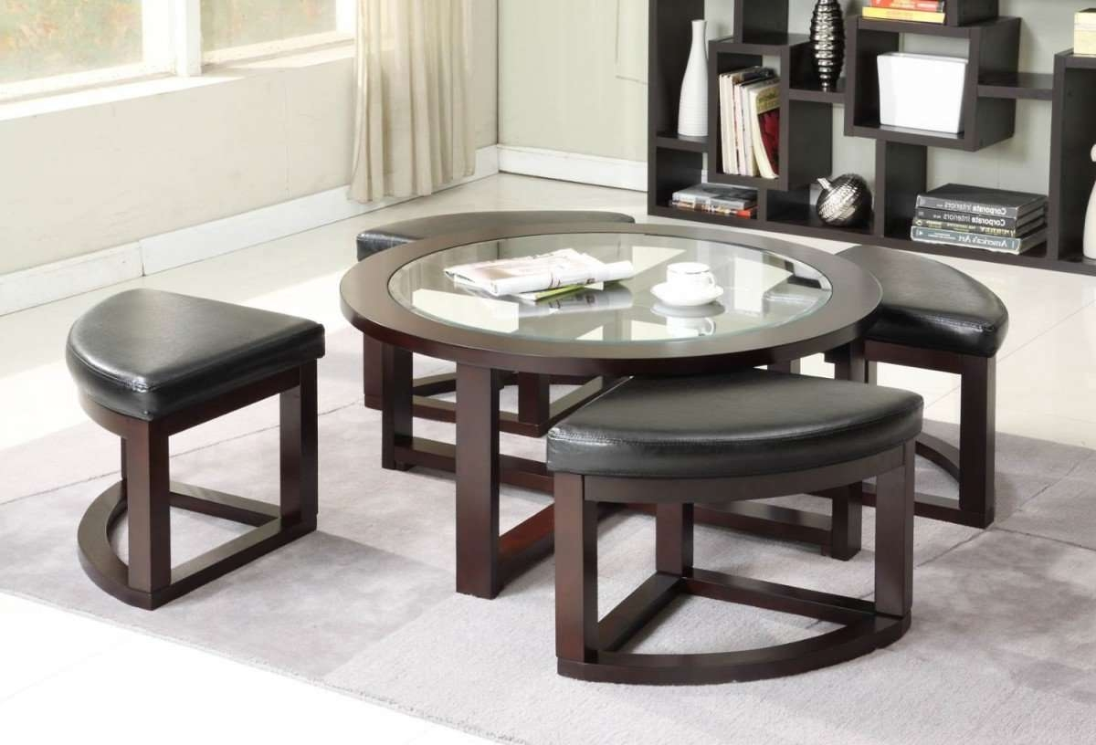 Featured Photo of Coffee Table With Stools