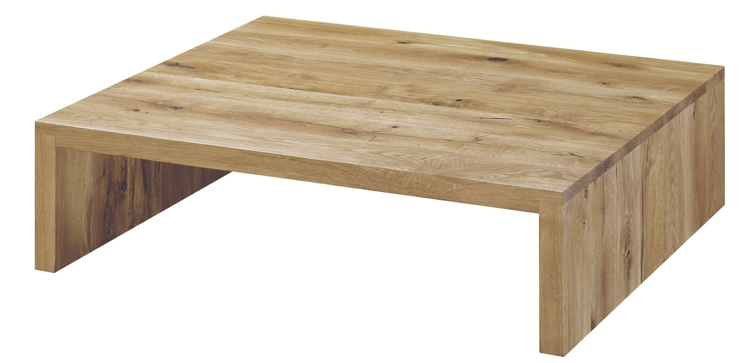Widely Used Contemporary Oak Coffee Table In Contemporary Coffee Table / Oak  / Oiled Wood /