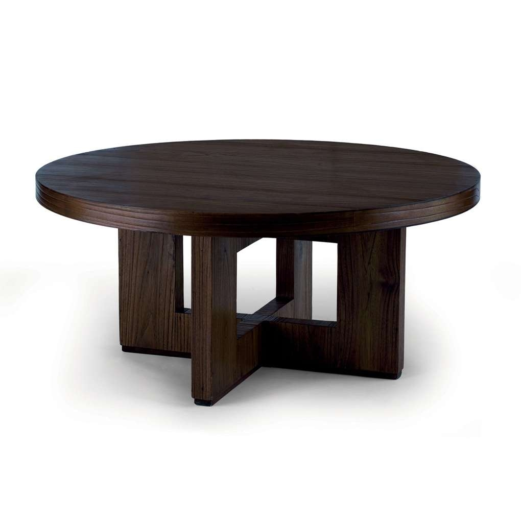 Widely Used Dark Wood Round Coffee Tables Pertaining To Small Coffee Tables As Reclaimed Wood Coffee Table On How To (View 12 of 20)