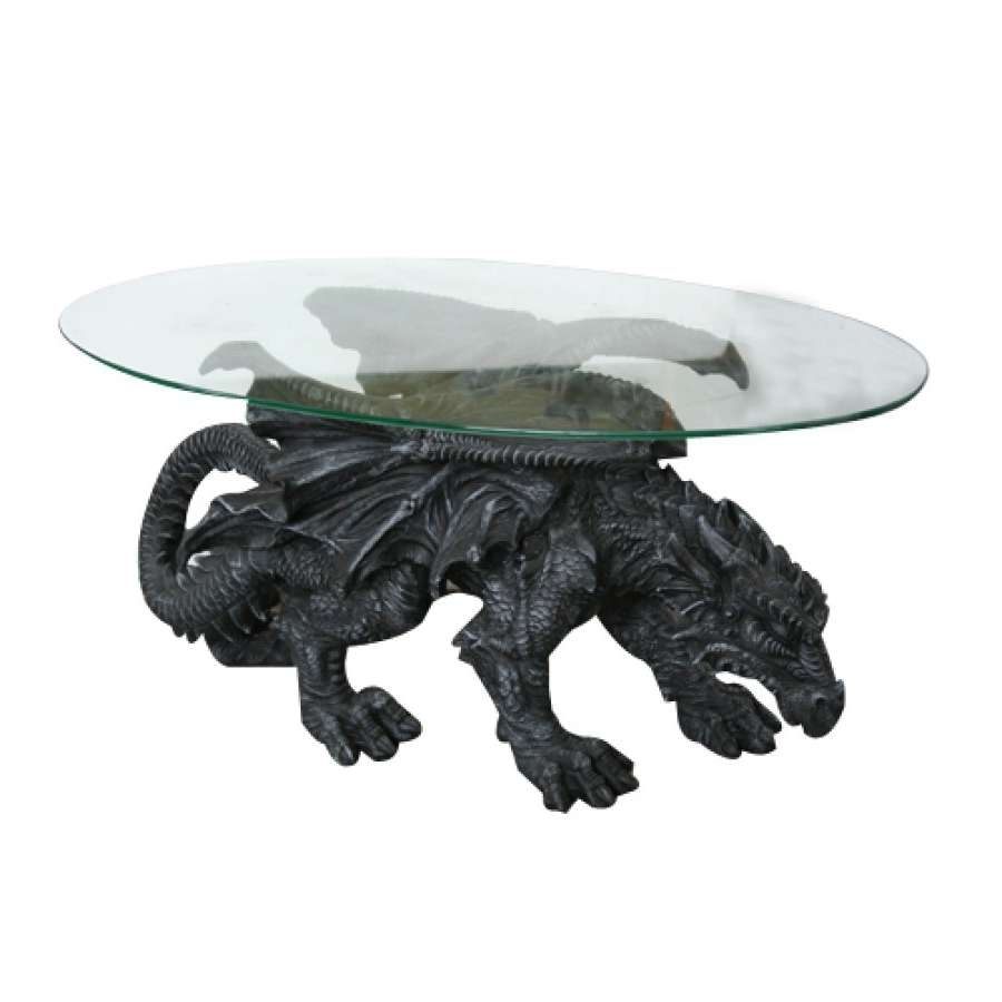Widely Used Dragon Coffee Tables Regarding Dragon Winged Coffee Tablemonte Moore – 33 Inches Long Dragon (View 2 of 20)
