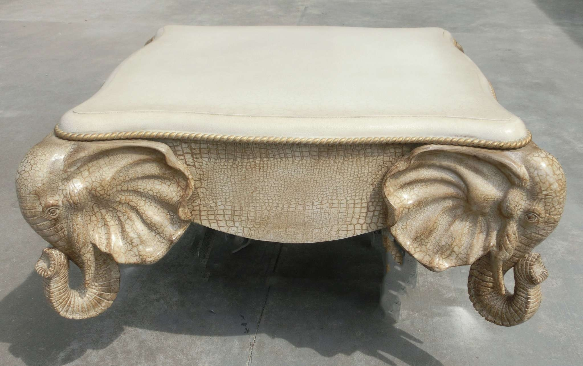 Widely Used Elephant Coffee Tables With Glass Top For Glass : Elephant Coffee Table Winston Sahd Elephant Table Elephant (View 20 of 20)