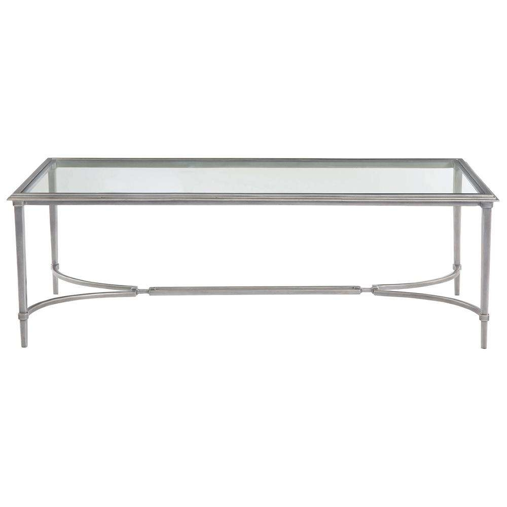 Widely Used Glass And Silver Coffee Tables Pertaining To Glass And Silver Coffee Table (View 20 of 20)