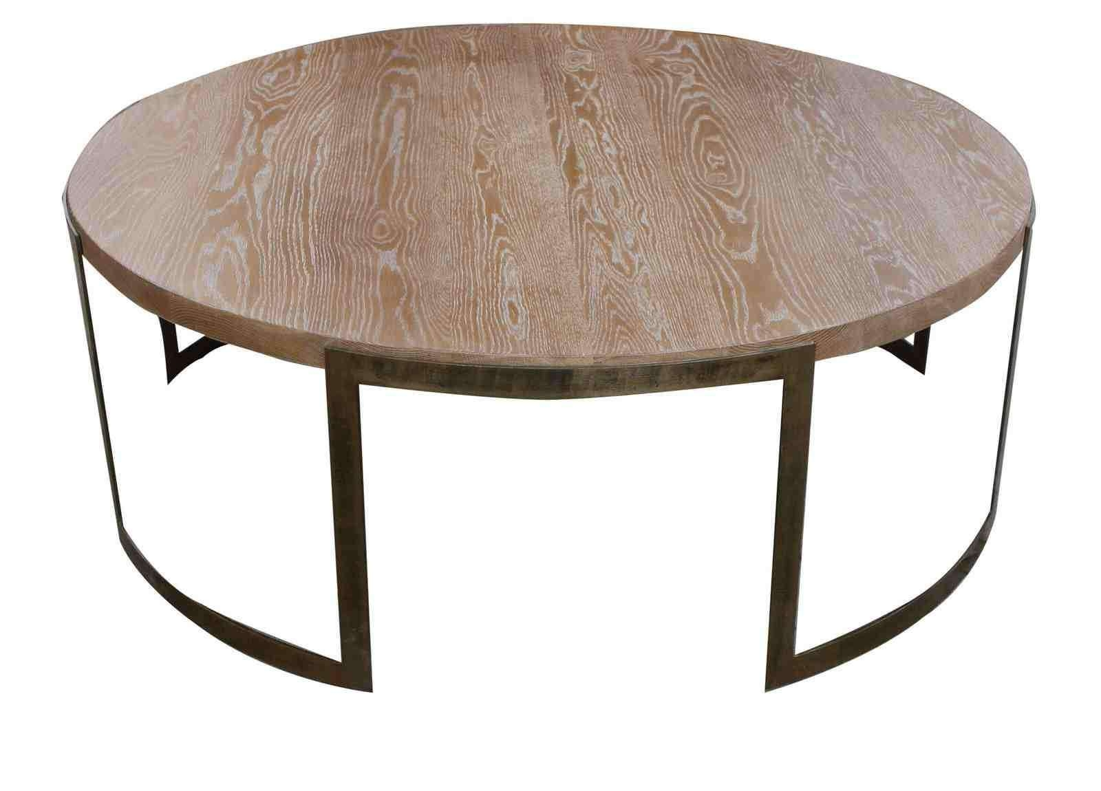 Widely Used Industrial Round Coffee Tables With Regard To Coffee Table: Modern Industrian Coffee Table Metal Industrial (View 18 of 20)