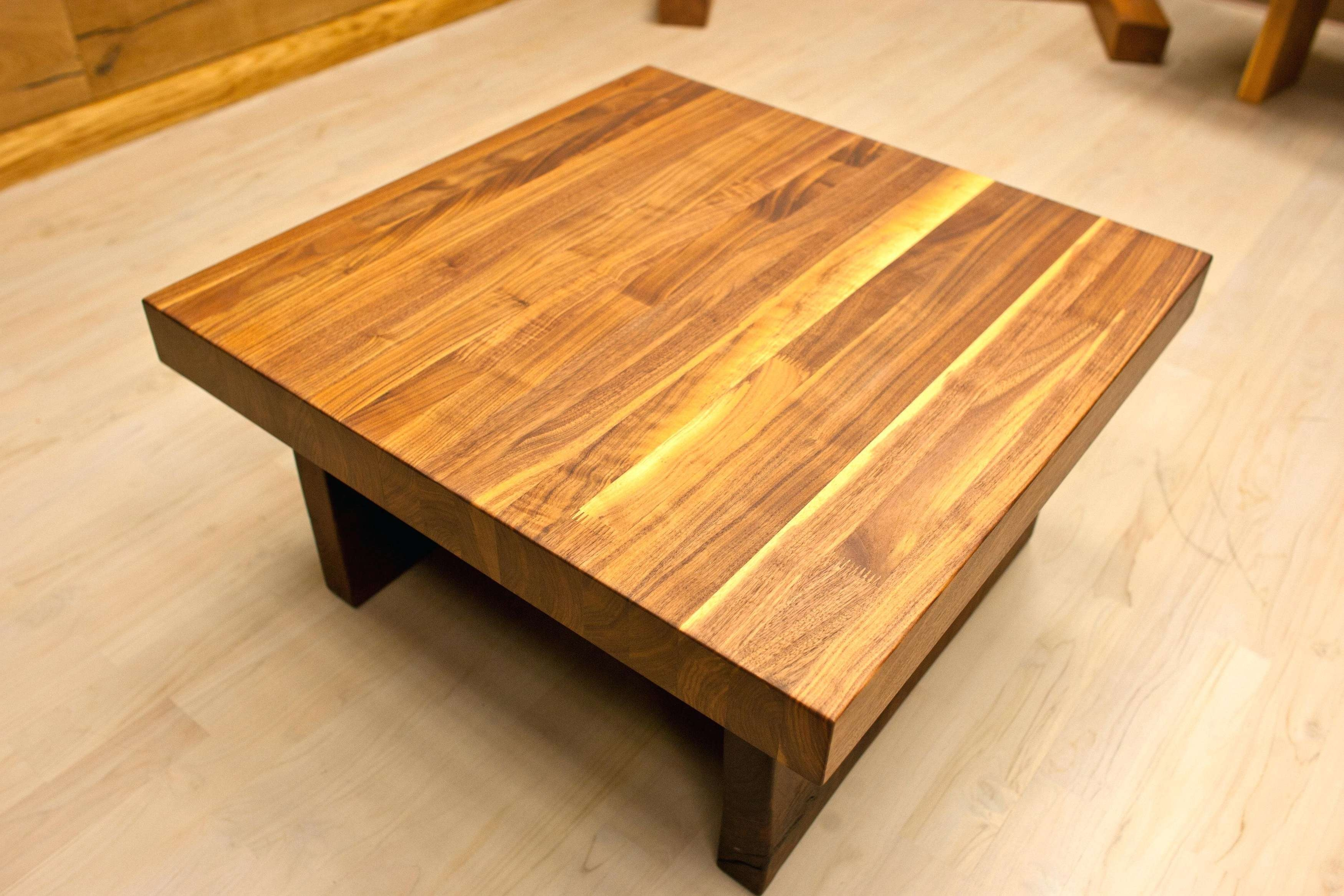 Widely Used Large Low Wood Coffee Tables For Coffee Table Wood Table For Tremendous Large Square Coffee Rustic (View 19 of 20)