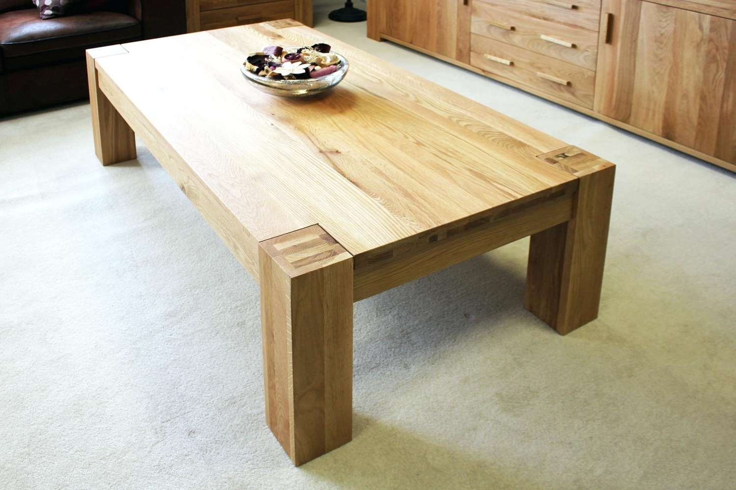 Widely Used Large Oak Coffee Tables Intended For Large Oak Coffee Tables Extra Table Best Of Solid With Storage (View 3 of 20)