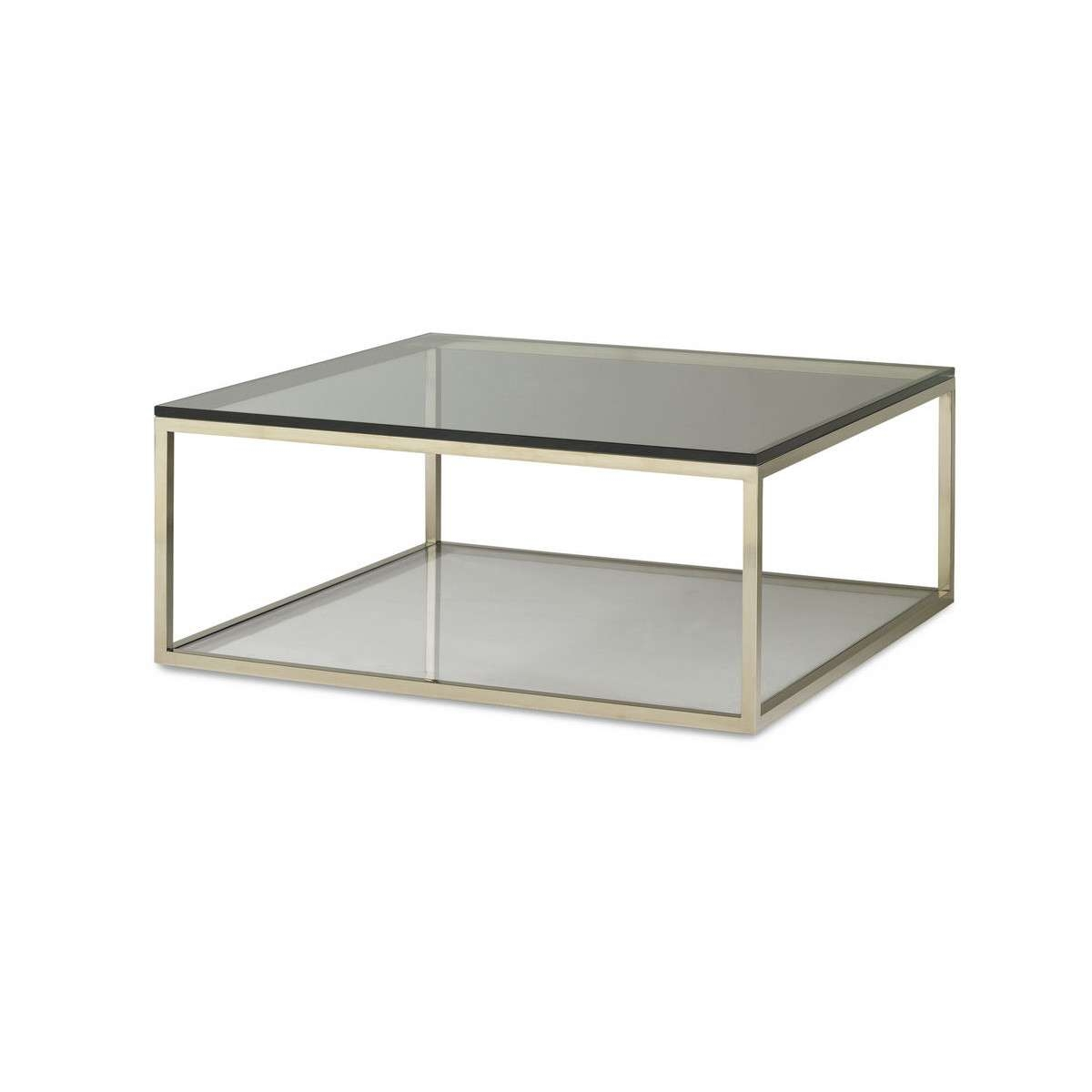 Widely Used Large Square Glass Coffee Tables Throughout Glass Coffee Tables: Outstanding Large Glass Coffee Tables (View 13 of 20)