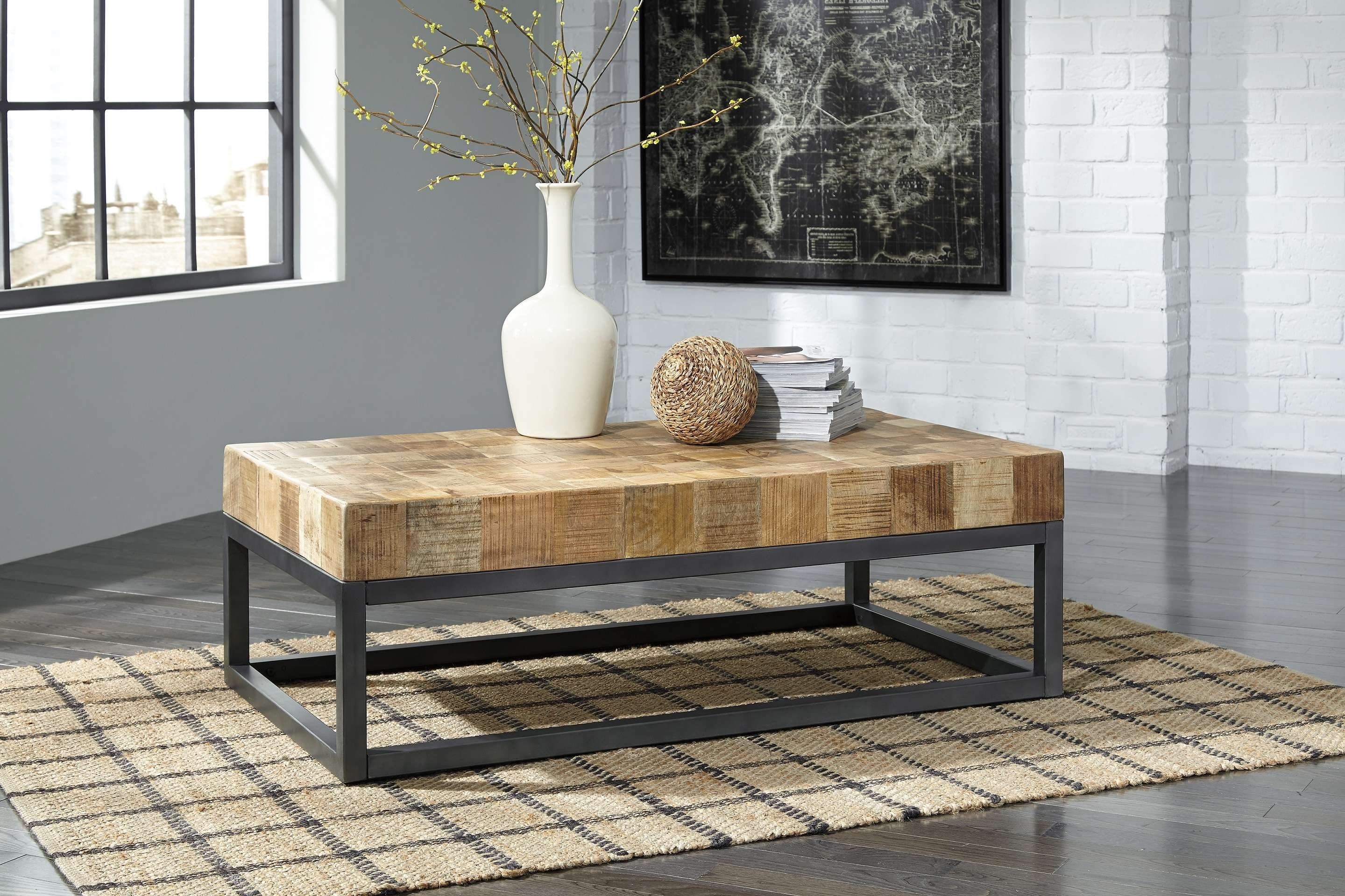 Widely Used Mango Coffee Tables For Prinico Coffee Table T943Ashley Furniture Solid Mango Wood (View 19 of 20)