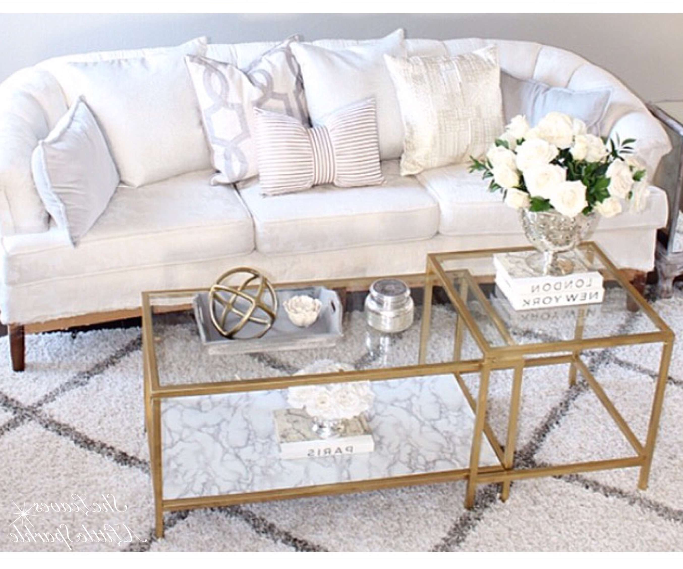 Widely Used Marble And Glass Coffee Table Within Most Popular Coffee Tables – Summer Adams (View 20 of 20)