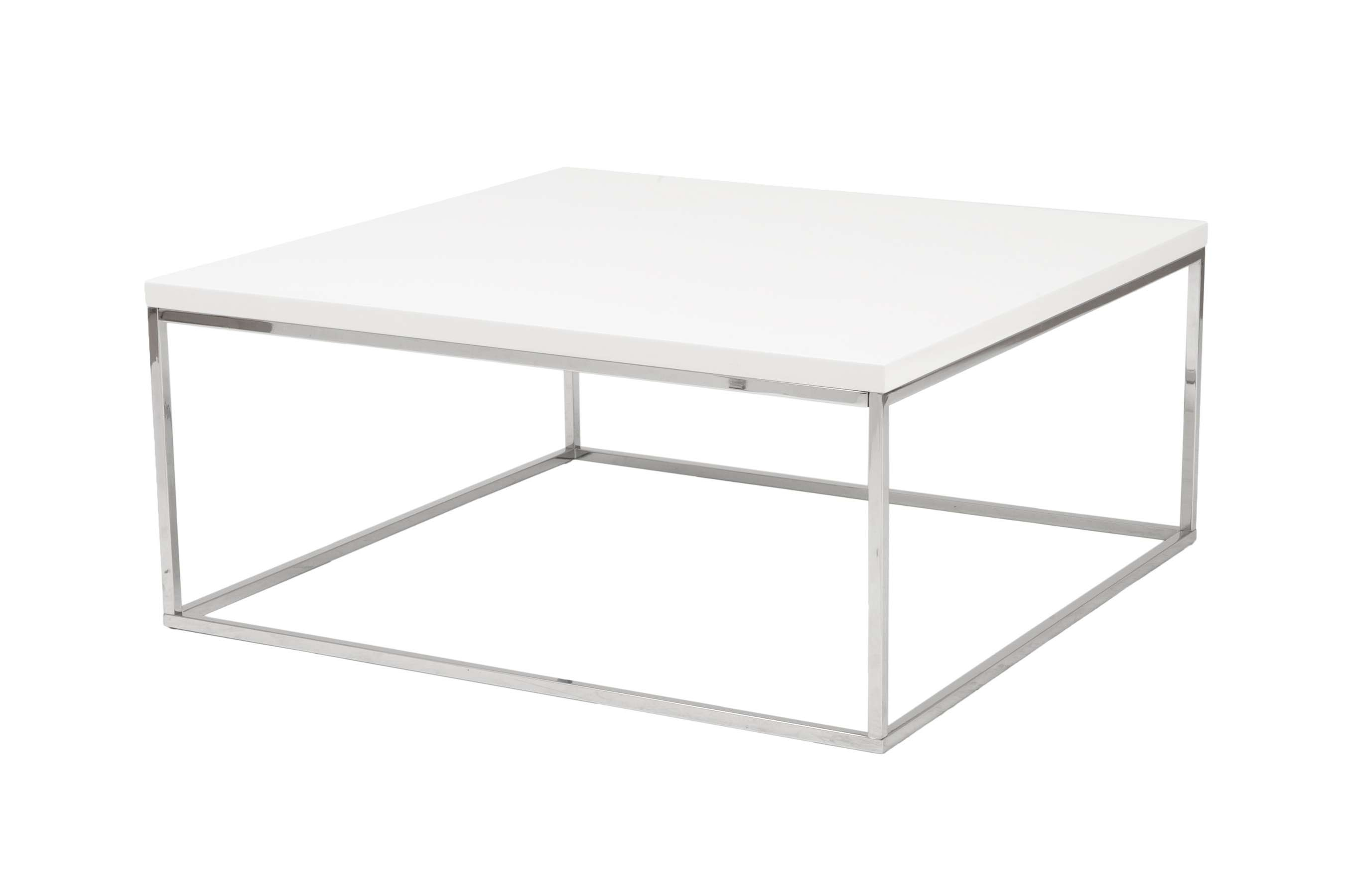 Widely Used Metal Square Coffee Tables Intended For Coffee Tables : Tables Online Modern Coffee Table Square Glass (View 2 of 20)