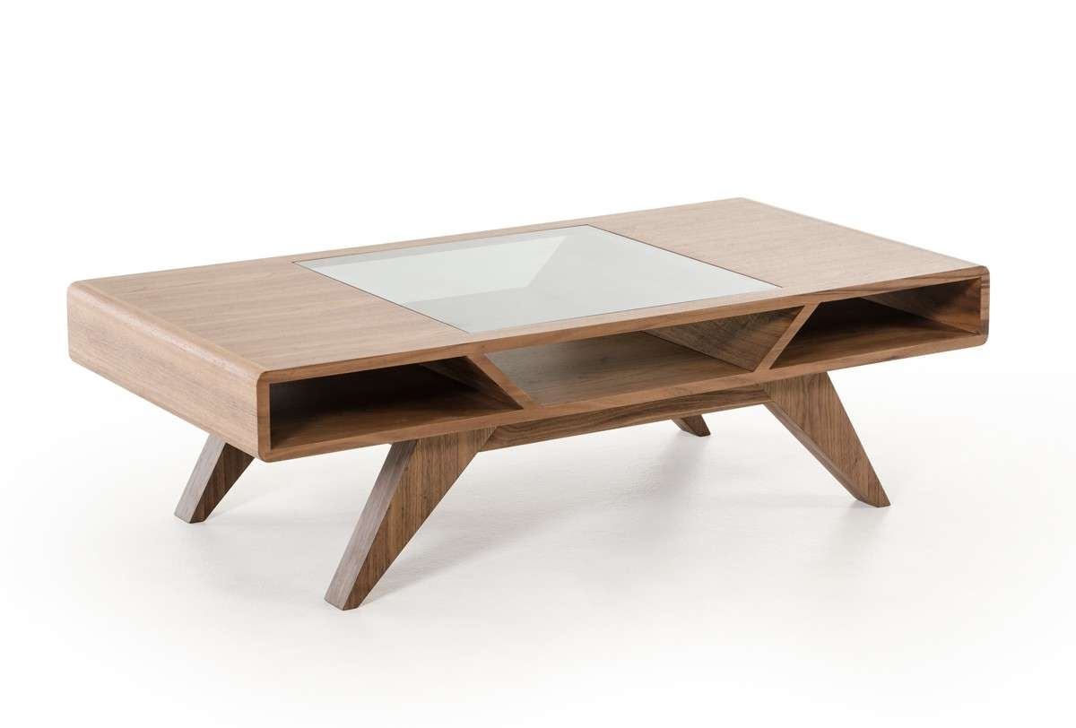 Widely Used Modern Coffee Tables Pertaining To Coffee Table, Nova Domus Soria Modern Walnut Coffee Table (View 6 of 20)