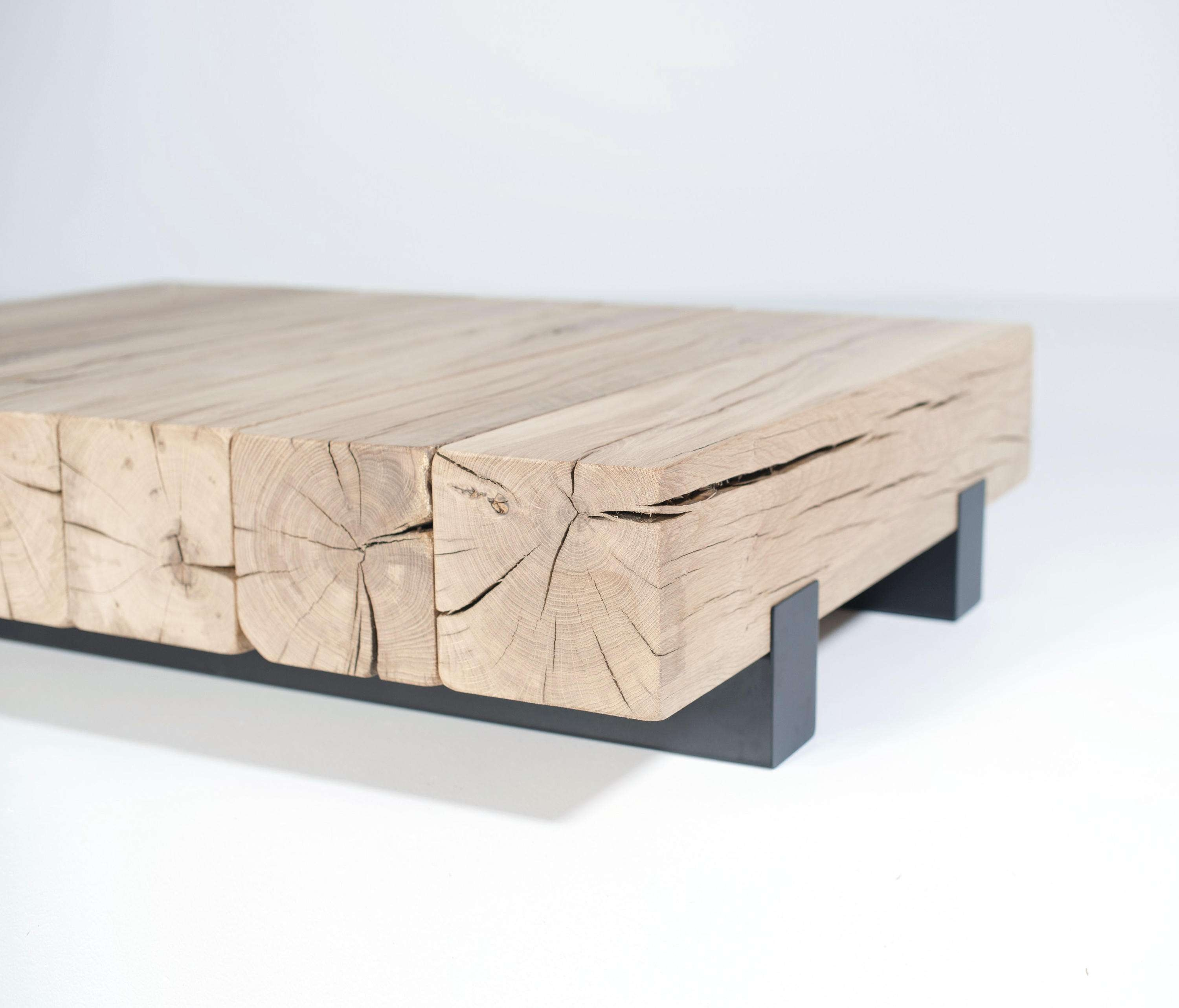 Widely Used Oak Beam Coffee Tables Intended For Beam Coffee Table – Lounge Tables From Van Rossum (View 18 of 20)