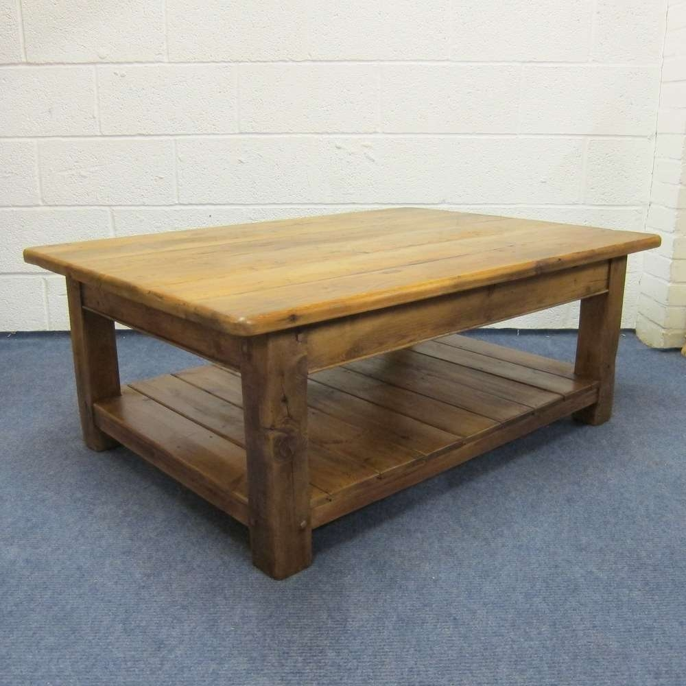Widely Used Square Pine Coffee Tables Regarding Coffee Table : Pine Coffee Table And End Tables Knotty Legspine (View 16 of 20)