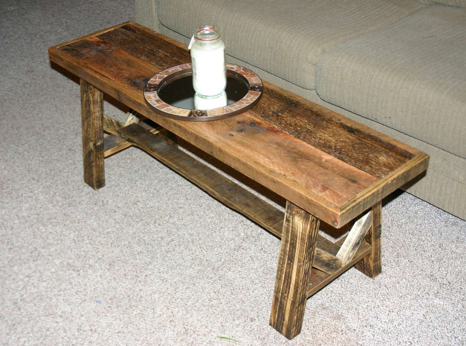 Widely Used Thin Coffee Tables Regarding Coffee Tables : Industrial Square Coffee Table Narrow With Storage (View 2 of 20)