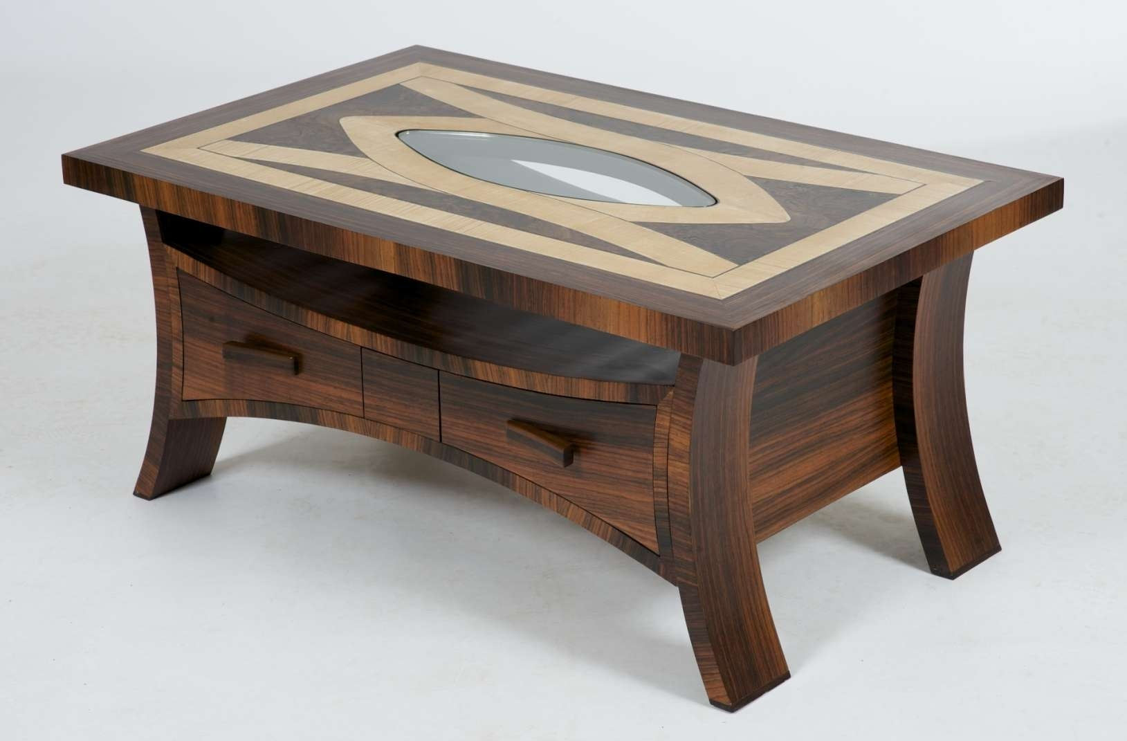 Widely Used Unusual Wooden Coffee Tables Pertaining To Furniture: Coffe Table Set (View 20 of 20)