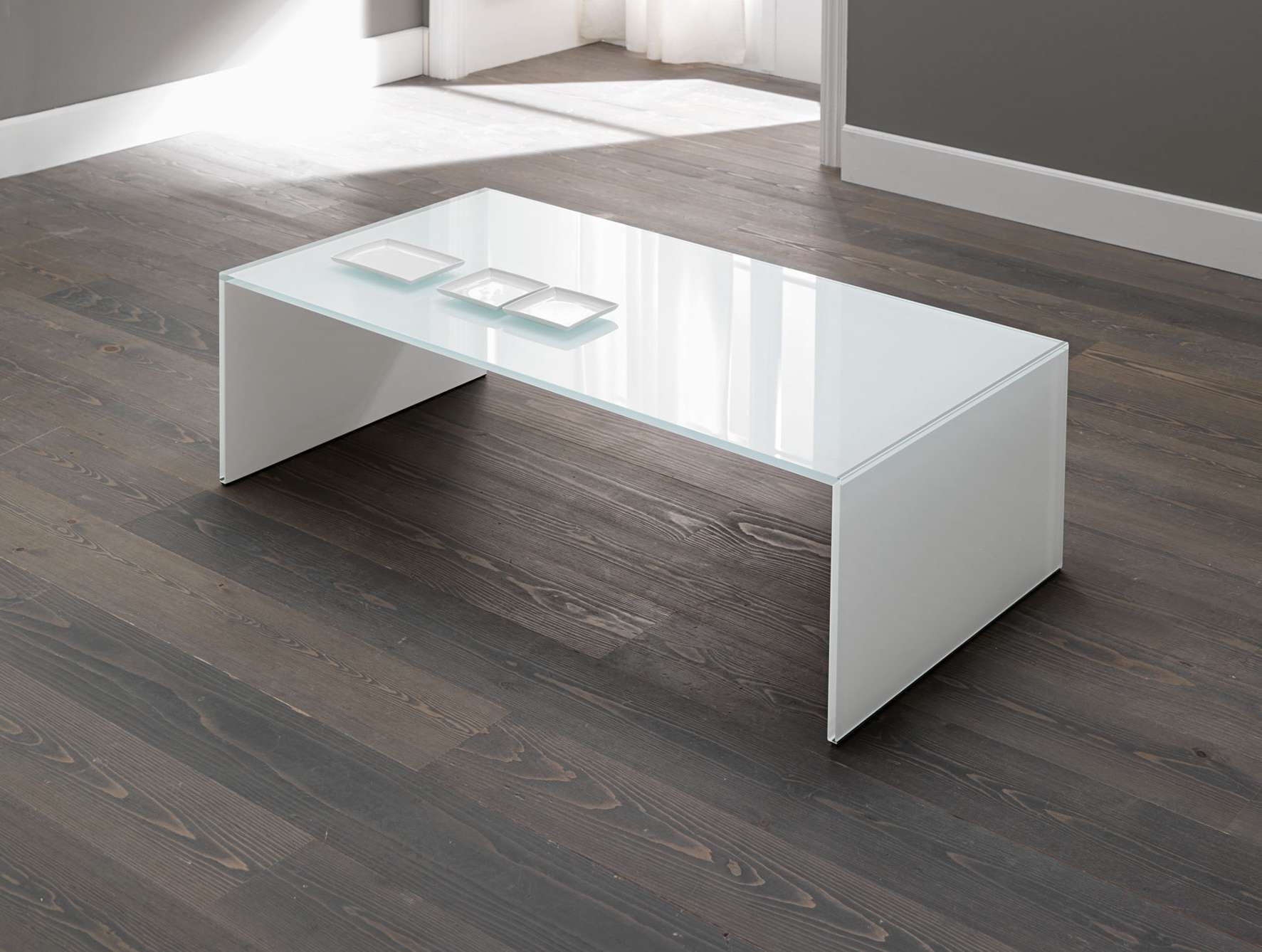 Widely Used White Wood And Glass Coffee Tables With Regard To Coffee Table, Simple Design Modern Coffee Table Featuring (View 12 of 20)