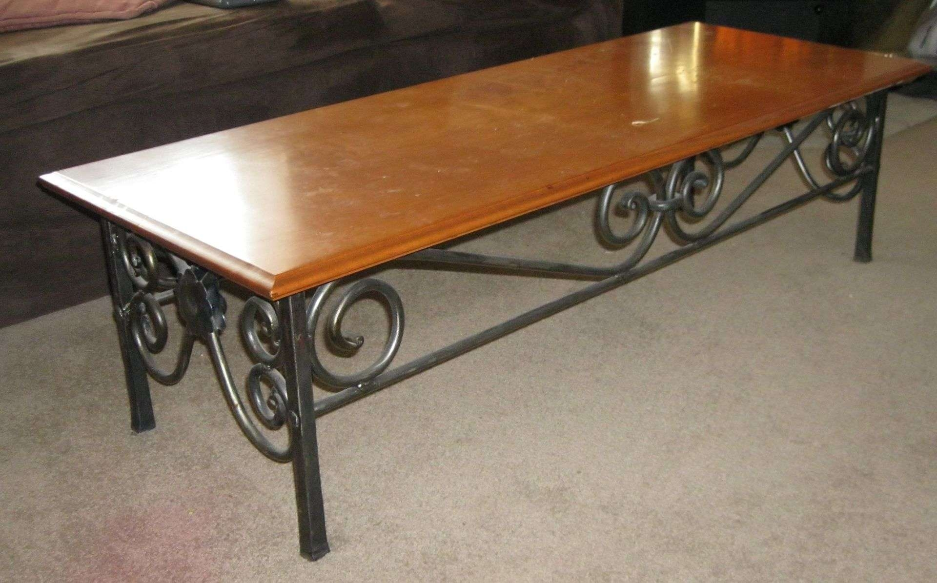 Featured Photo of Wrought Iron Coffee Tables