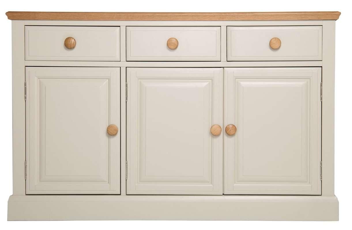 Wildon Home Dania 3 Door 3 Drawer Sideboard & Reviews | Wayfair.co (View 20 of 20)