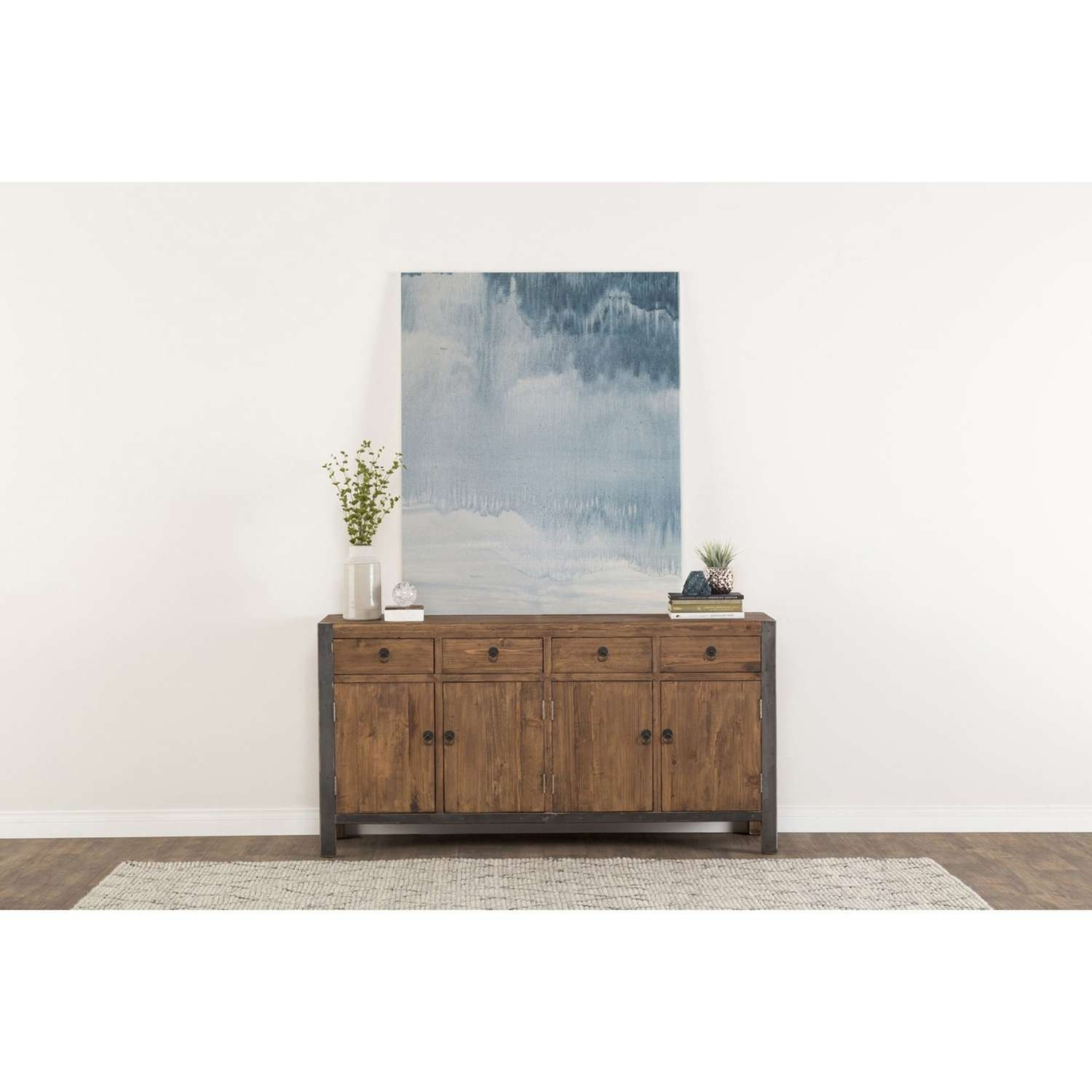 Willow Reclaimed Wood And Iron 70 Inch Buffetkosas Home – Free With Regard To 70 Inch Sideboards (View 11 of 20)