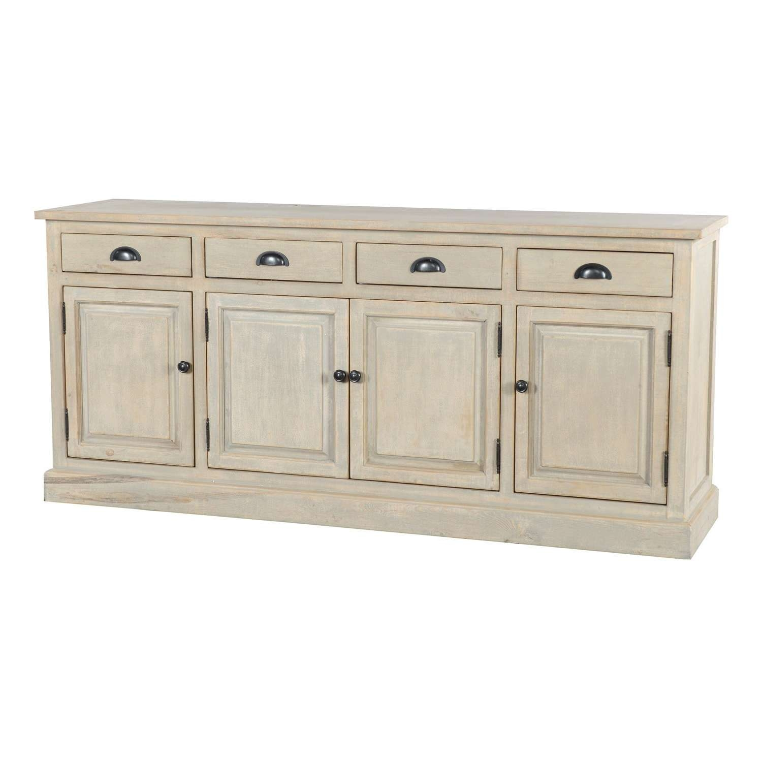 Wilson Reclaimed Wood 79 Inch Sideboardkosas Home – Free Throughout 14 Inch Deep Sideboards (View 3 of 20)