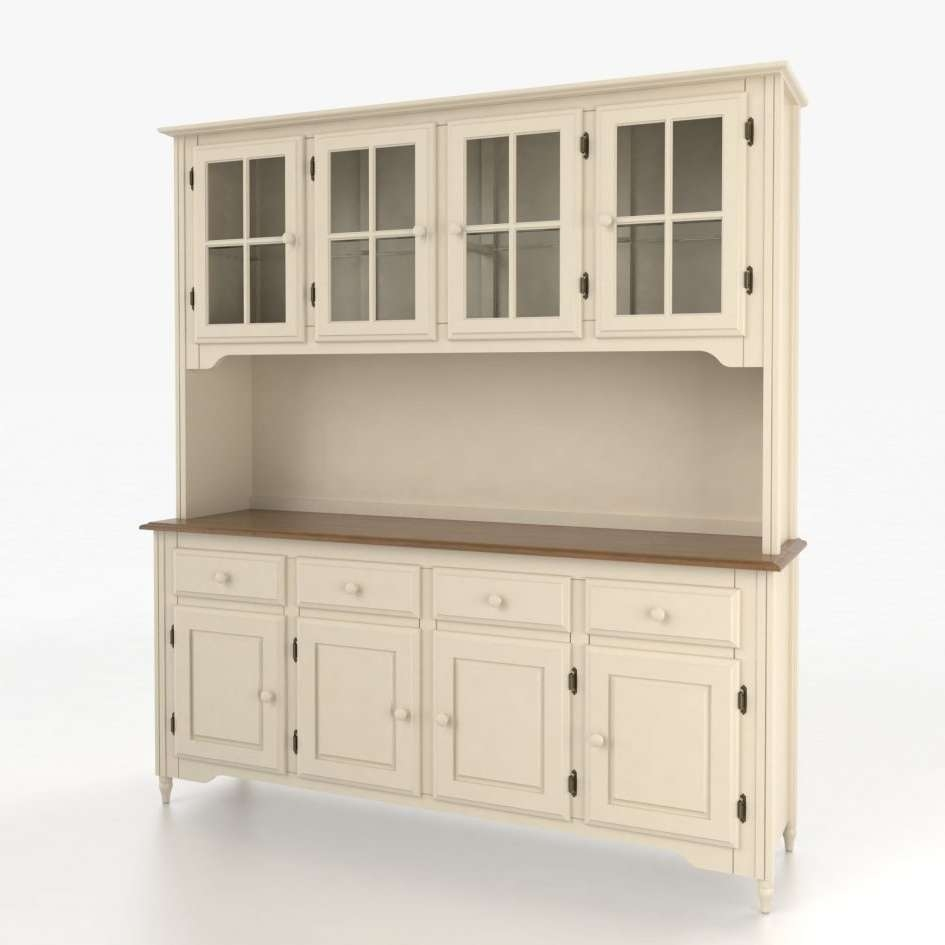 Wine Buffet Wood Sideboard Cabinet Dining Room Furniture Buffet For Slim Kitchen Sideboards (View 18 of 20)