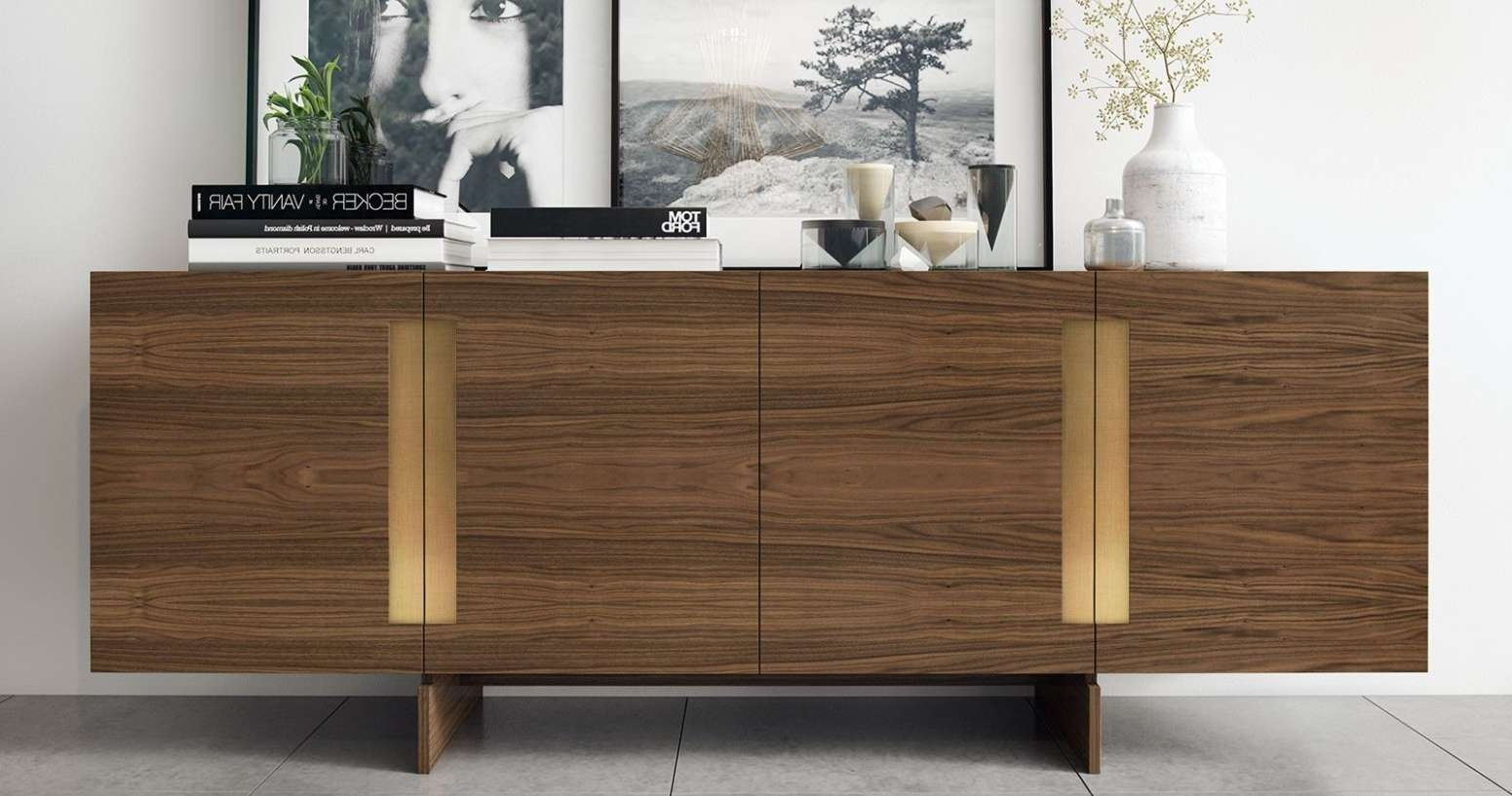 Wine Sideboard Dark Wood Buffet Narrow Sideboard Buffet Cheap For Slim Kitchen Sideboards (View 20 of 20)