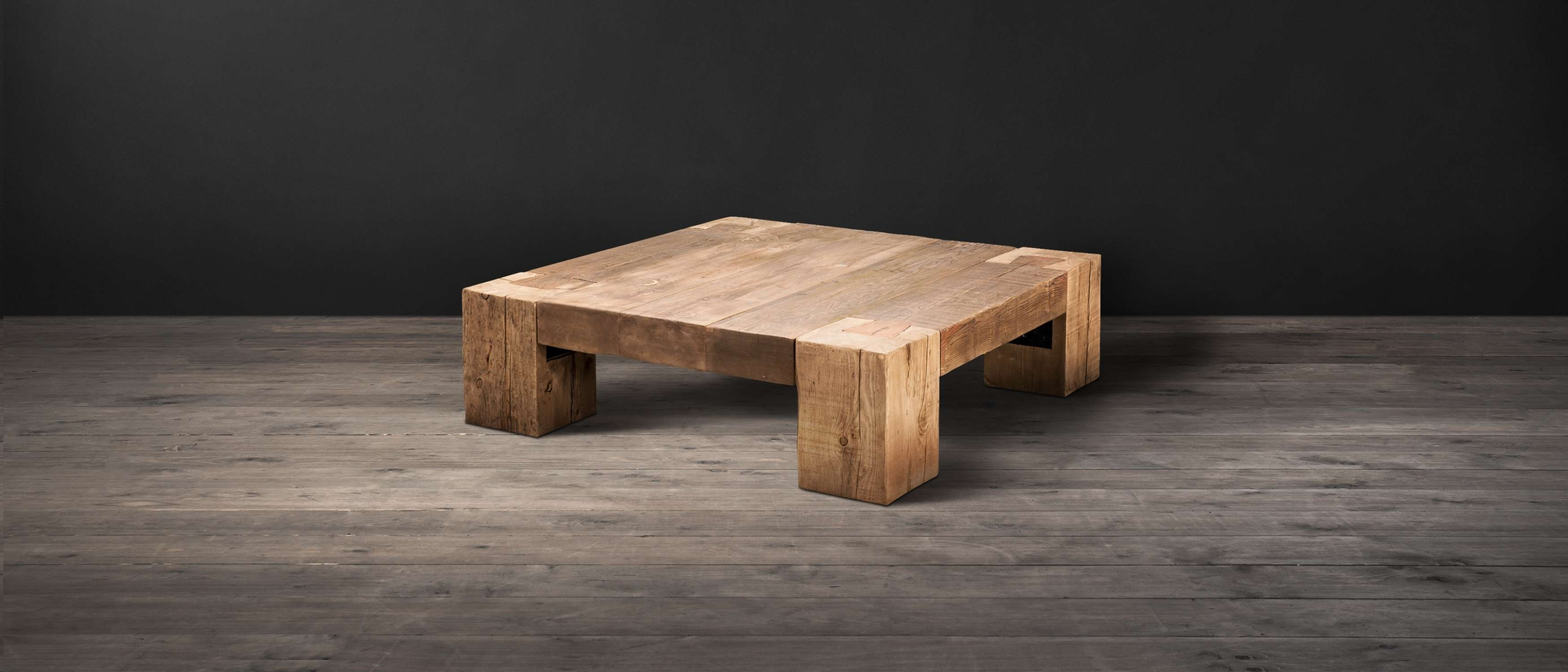 Wood Coffee Tables – English Beam (View 20 of 20)