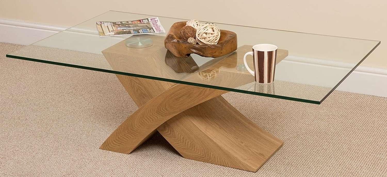 Wood Glass Coffee Table – Writehookstudio With Popular Wooden And Glass Coffee Tables (View 20 of 20)