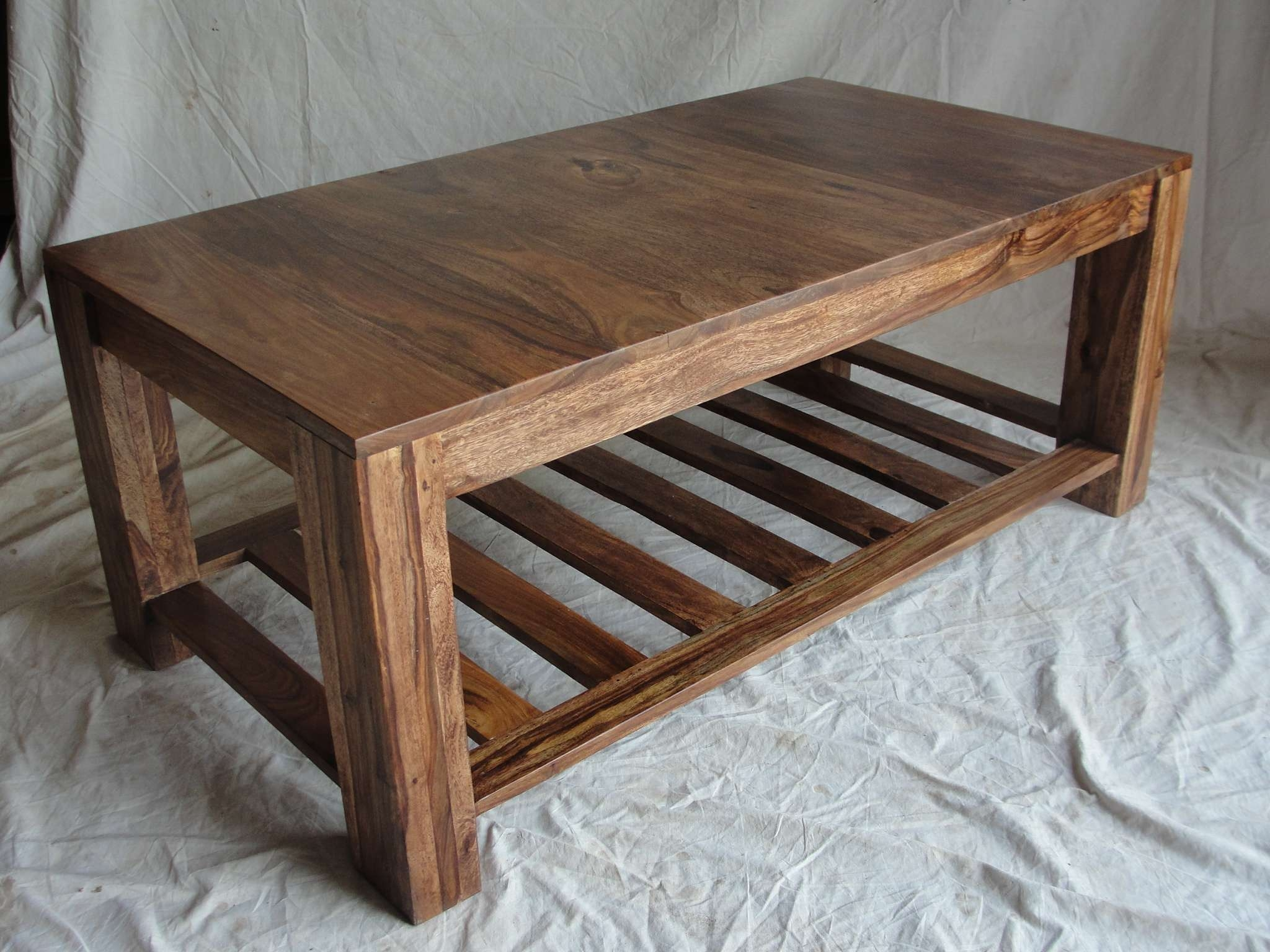 Wooden Coffee Tables Diy – Wooden Coffee Tables And How To Prevent With Regard To Favorite Natural Wood Coffee Tables (View 20 of 20)
