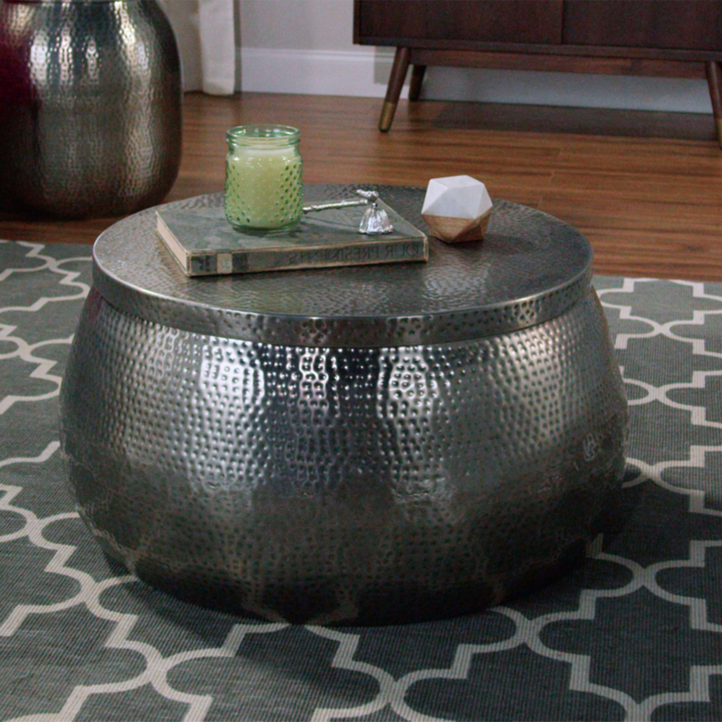 World Market With Regard To Most Current Hammered Silver Coffee Tables (View 3 of 20)