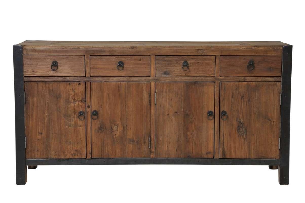 Wynonna Reclaimed Wood Sideboard & Reviews | Joss & Main With Reclaimed Wood Sideboards (View 20 of 20)