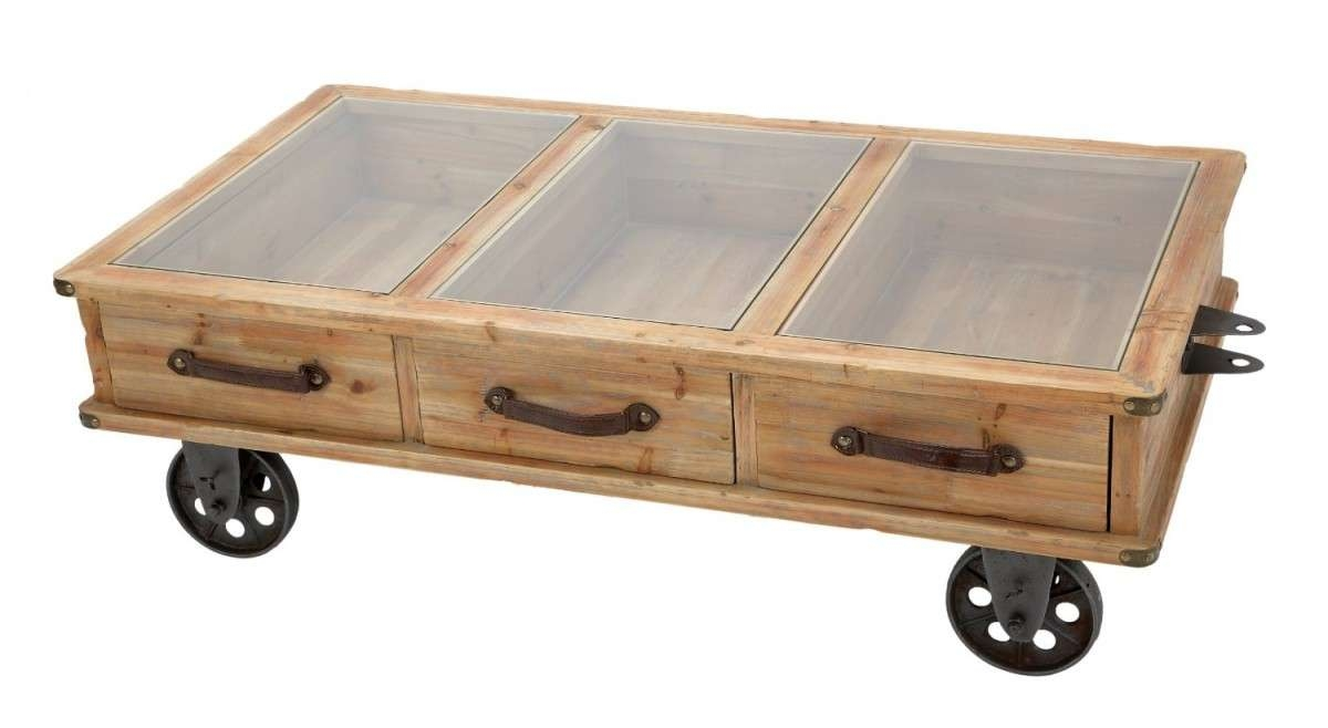 You Will Never Believe These Bizarre Truth Of Small Table With Inside Most Current Rustic Coffee Table With Wheels (View 3 of 20)