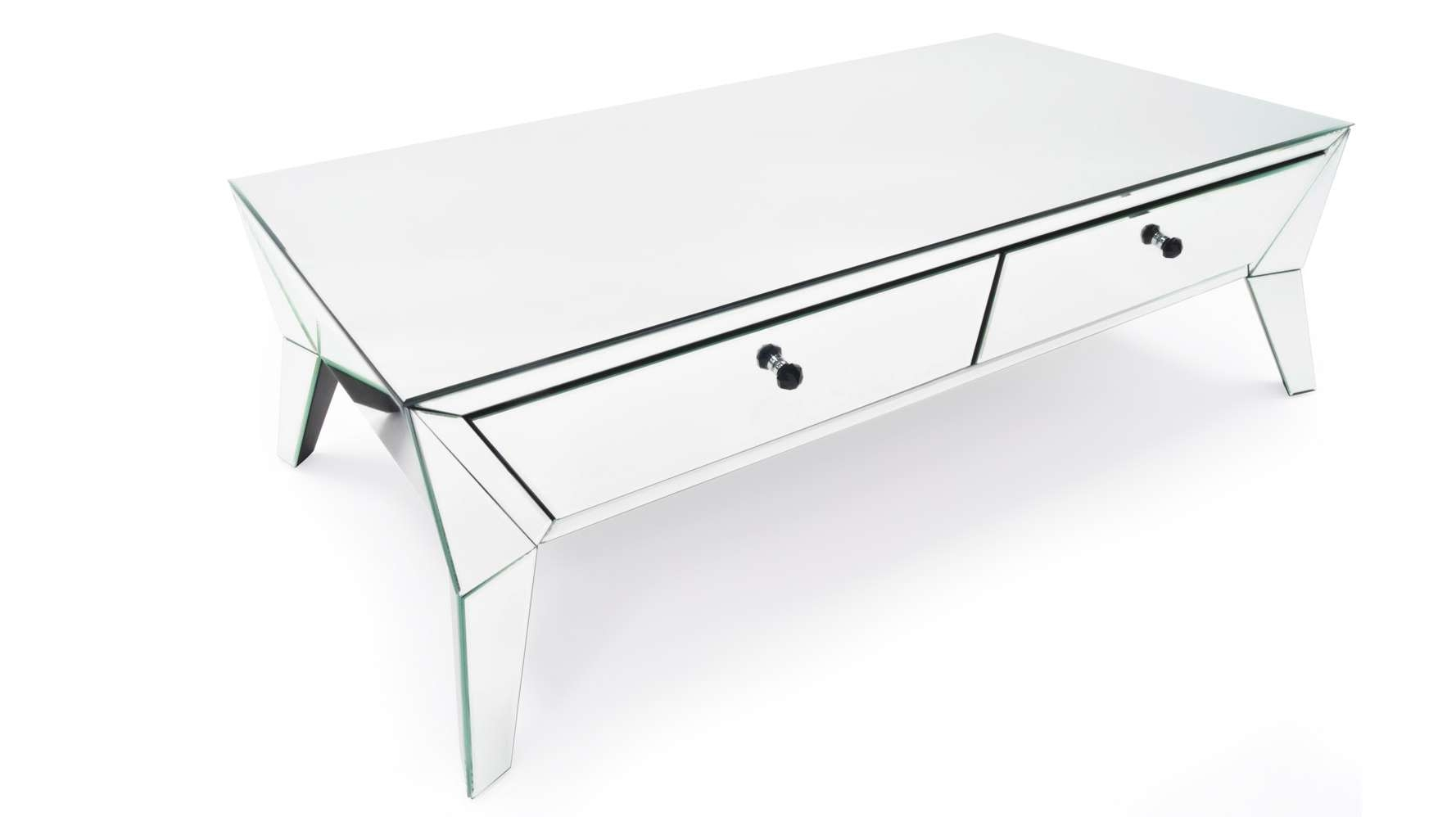 Zuri Furniture With Most Popular Mirrored Coffee Tables (View 15 of 20)