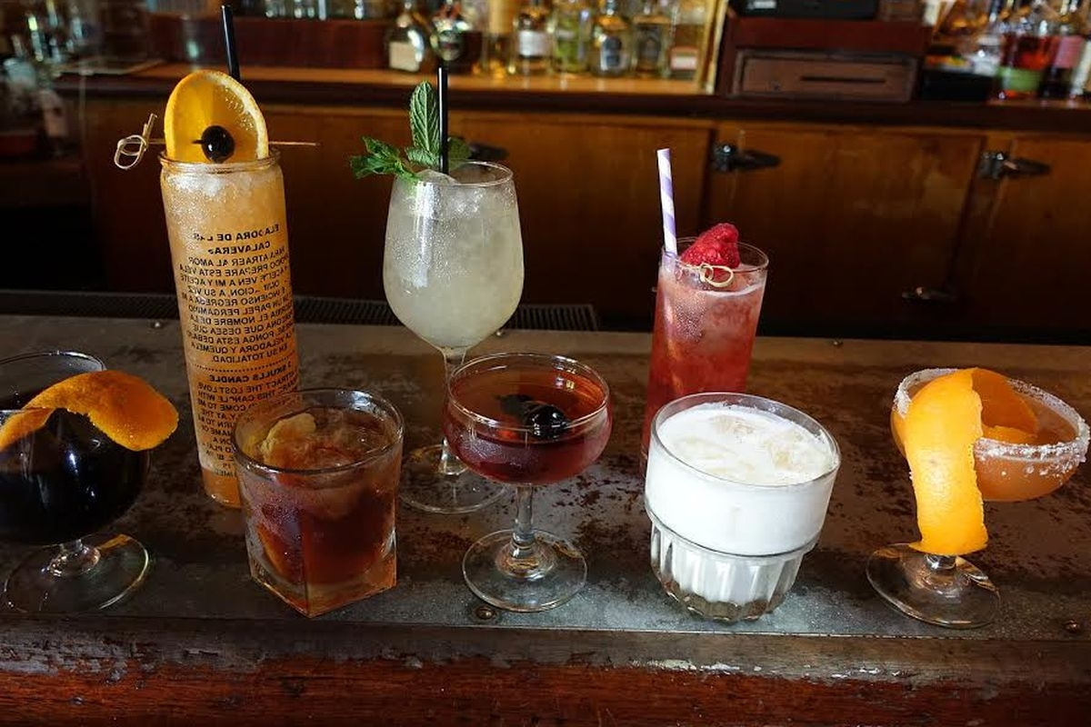 12 Classic Cocktails Invented In New Orleans – Eater In Newest Nola Cocktail Tables (View 17 of 20)