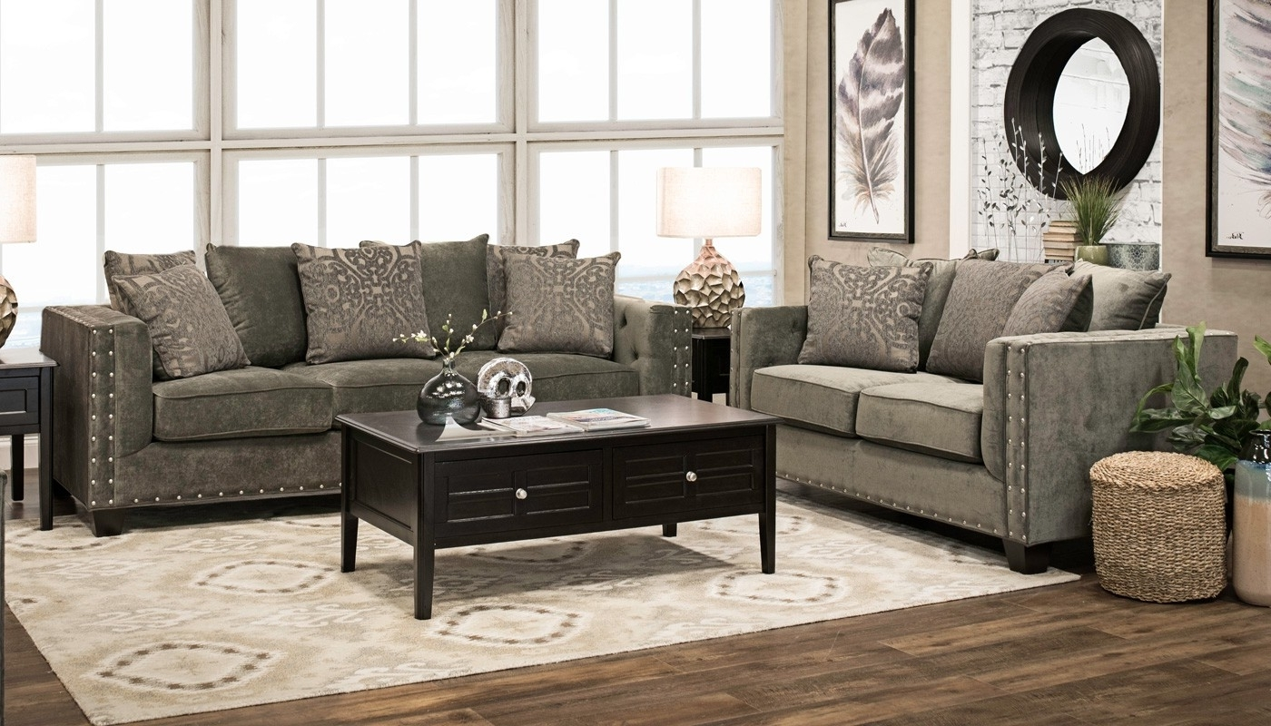 2017 Abby Cocktail Tables Regarding Abby Sofa – Home Zone Furniture (View 13 of 20)