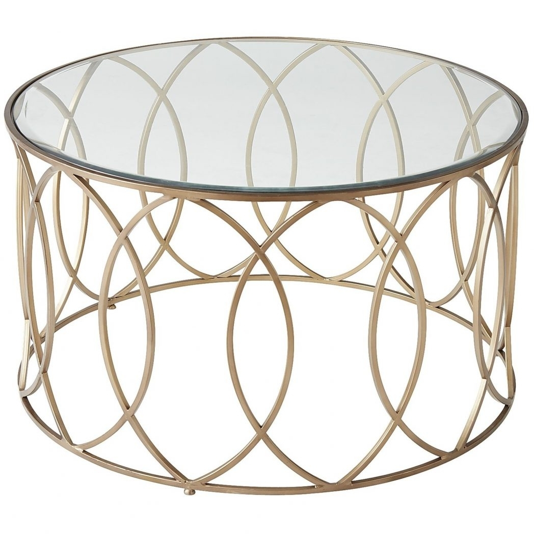 2017 Brass Iron Cube Tables Intended For Glass And Iron Round Metal Coffee Table All For Frame Vintage Brass (View 17 of 20)