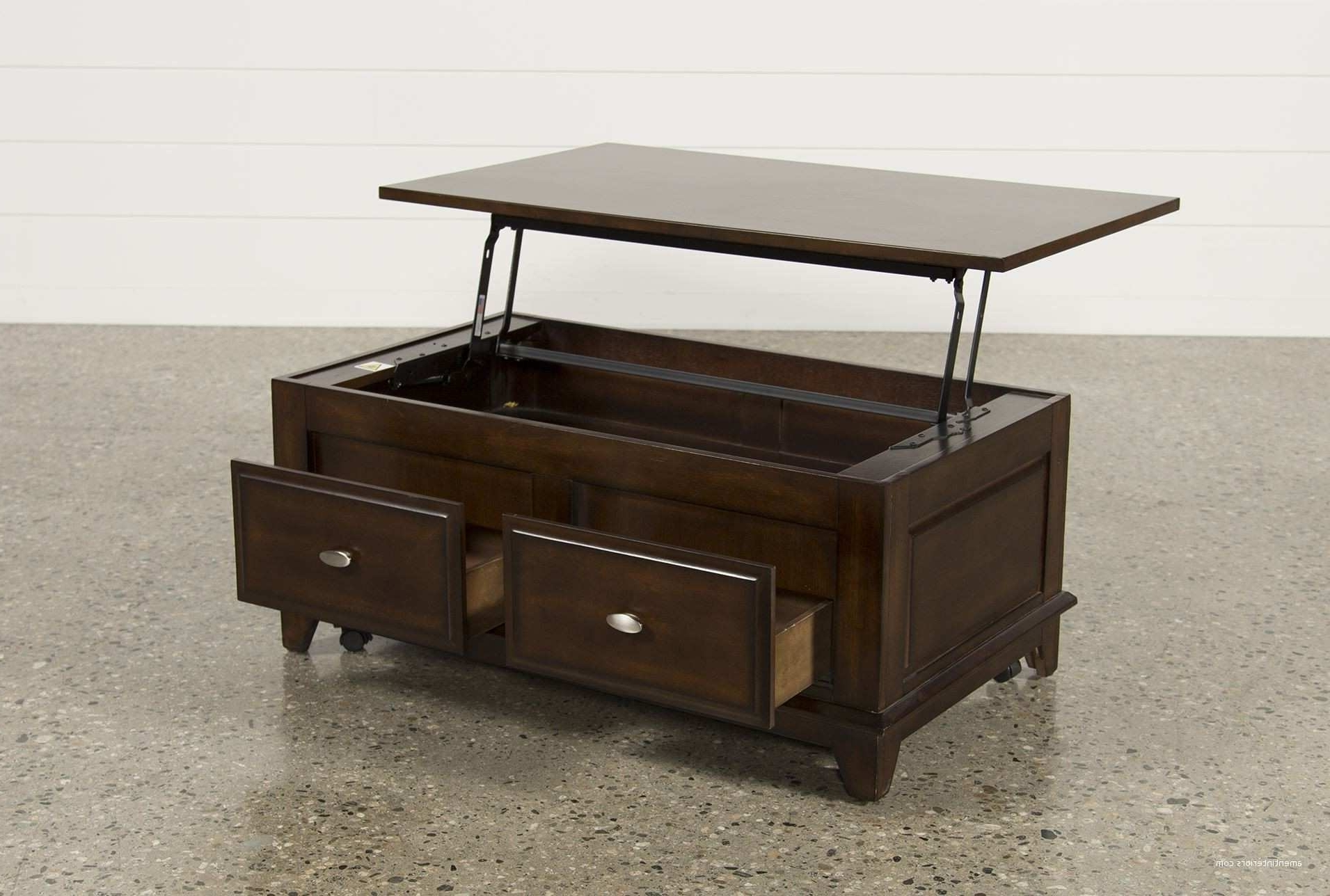 2017 Jaxon Grey Lift Top Cocktail Tables Regarding Living Spaces Coffee Table Lift Top – Coffee Table Design Ideas (View 1 of 20)