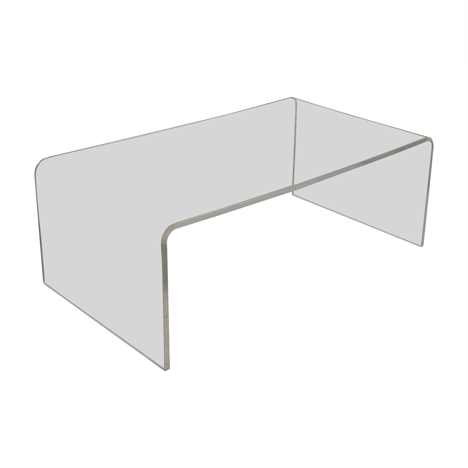 [%2017 Peekaboo Acrylic Tall Coffee Tables With Regard To 61% Off – Cb2 Cb2 Peekaboo Acrylic Ghost Tall Coffee Table / Tables|61% Off – Cb2 Cb2 Peekaboo Acrylic Ghost Tall Coffee Table / Tables Inside Preferred Peekaboo Acrylic Tall Coffee Tables%] (View 1 of 20)