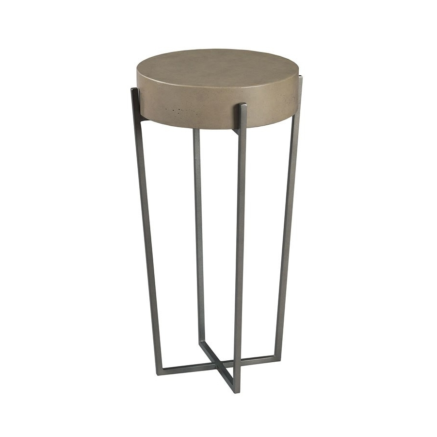 2018 Blanton Round Cocktail Tables For Hidden Treasures Round Accent Table – Occasional And Accent (View 1 of 20)