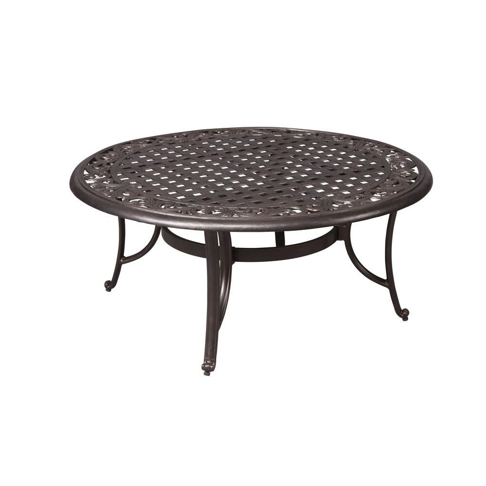 2018 Jordan Cocktail Tables Pertaining To Outdoor Coffee Tables – Patio Tables – The Home Depot (Gallery 18 of 20)